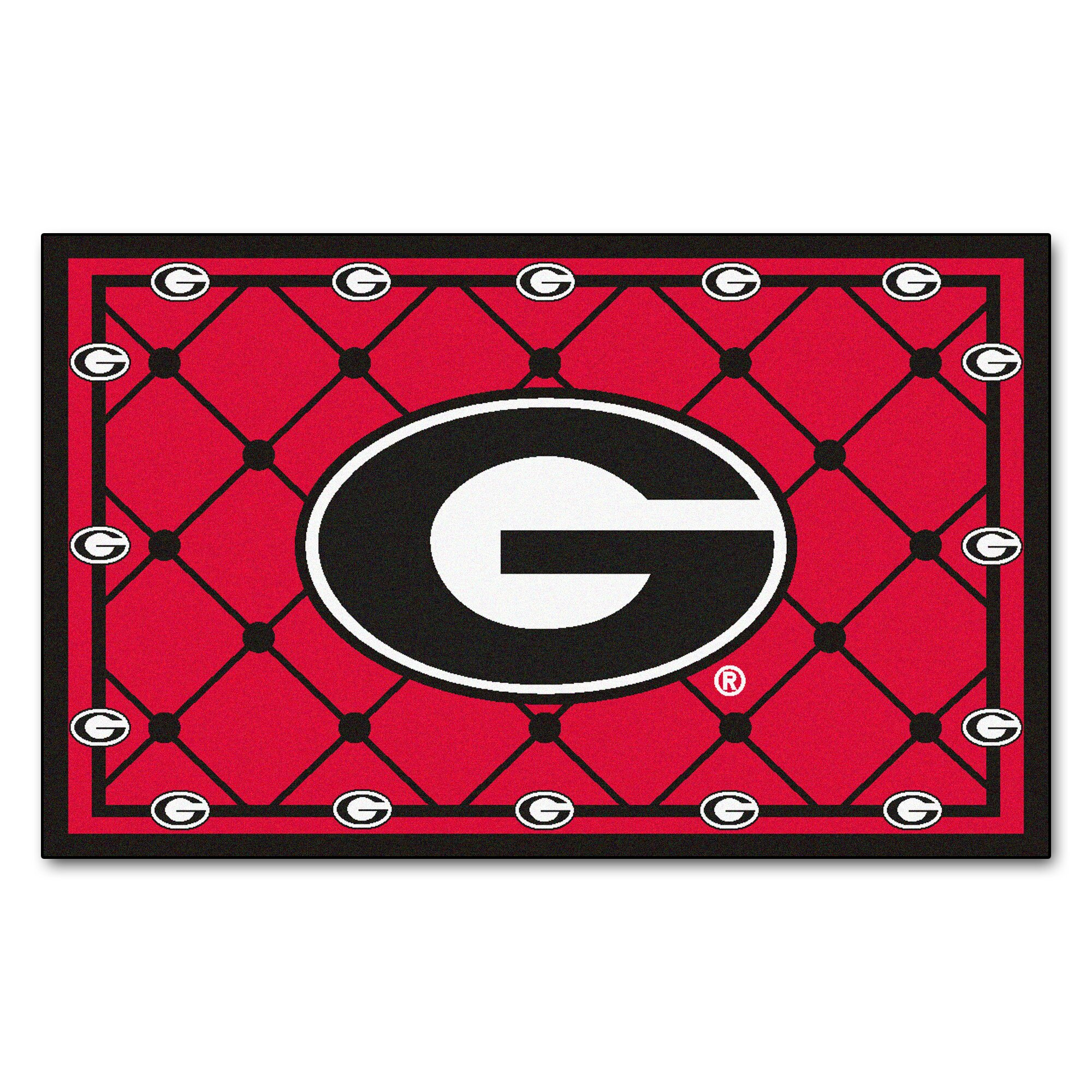NCAA University of Georgia 4x6 Rug | Wayfair
