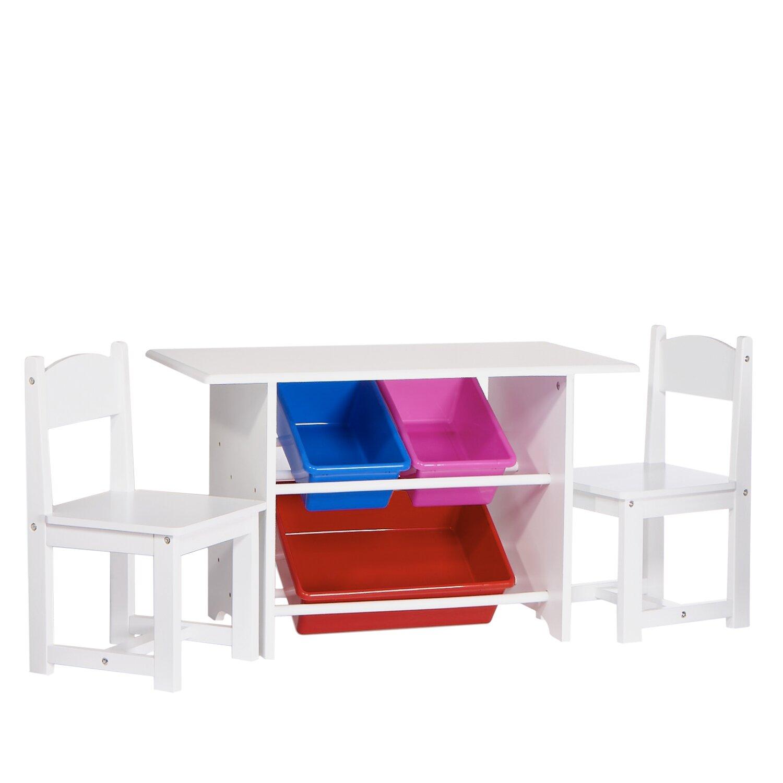 Riverridge Kids Kids 3 Piece Table And Chair Set Amp Reviews