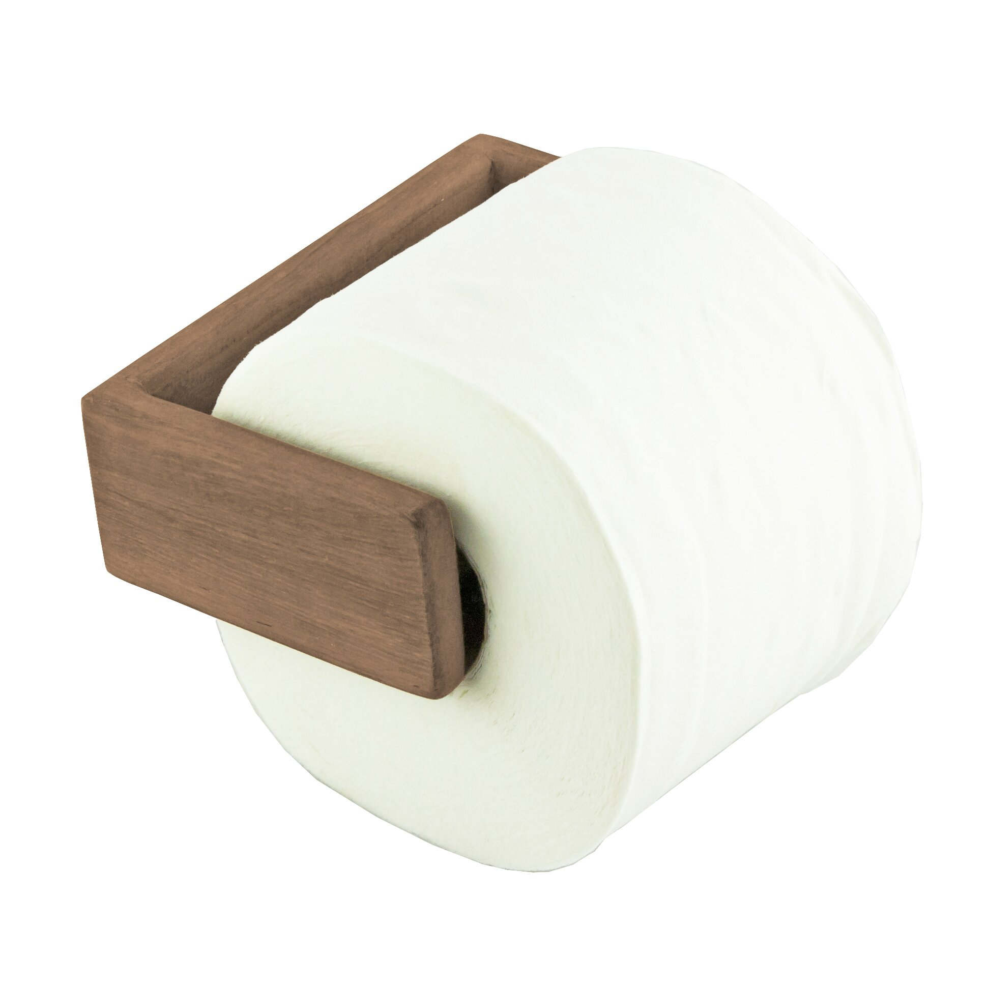 Seateak Wall Mounted Toilet Paper Holder Reviews Wayfair