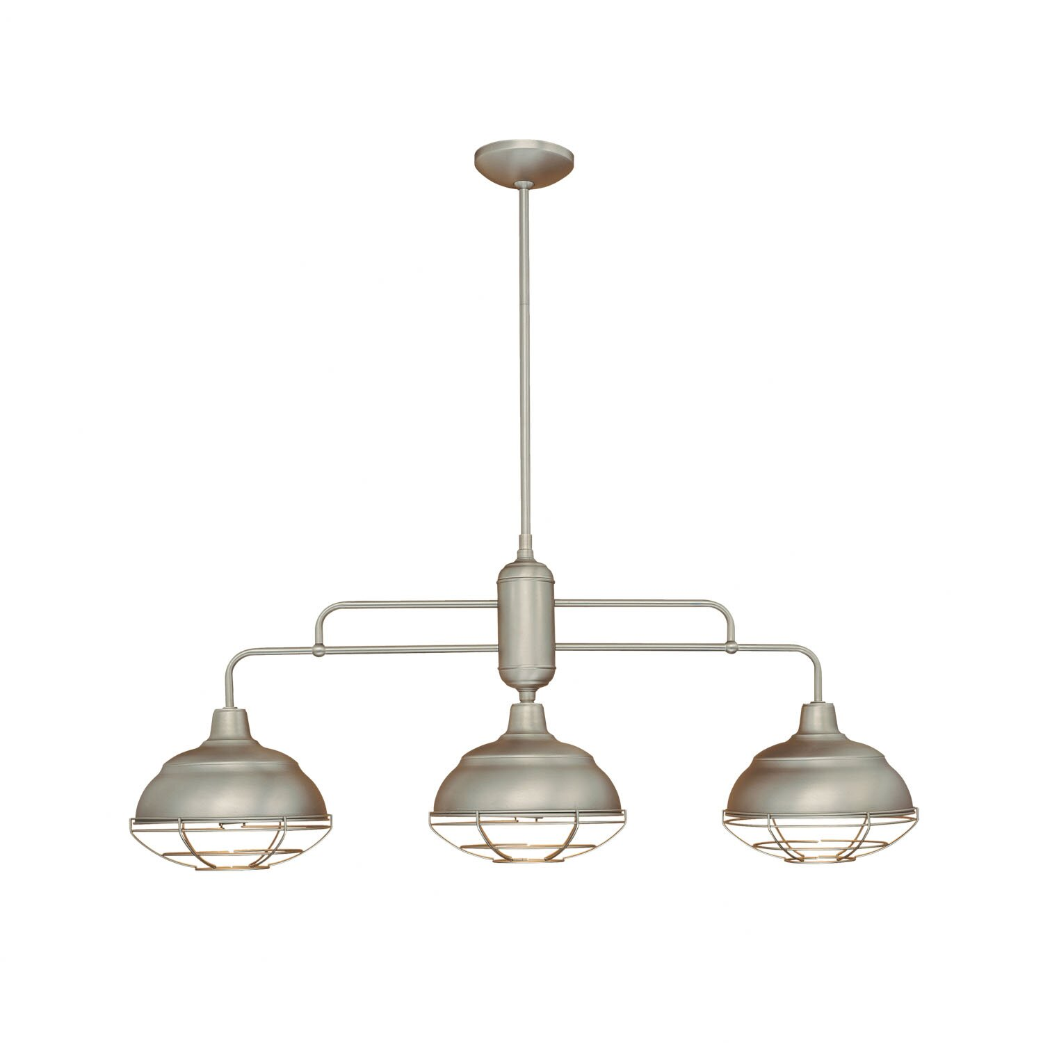 Millennium lighting neo industrial 3 light kitchen island pendant reviews wayfair - Industrial lighting fixtures for kitchen ...