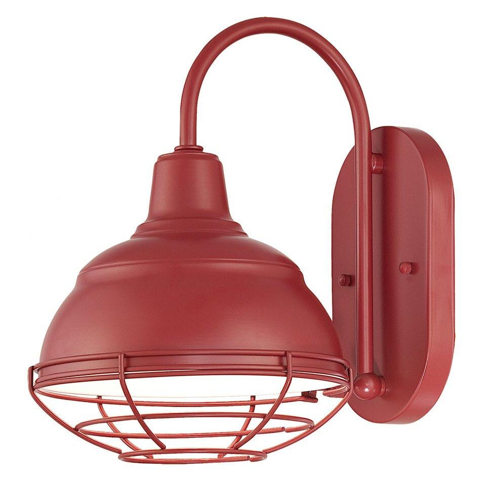 Zjojo Barn Light: Millennium Lighting R Series 1 Light Outdoor Barn Light