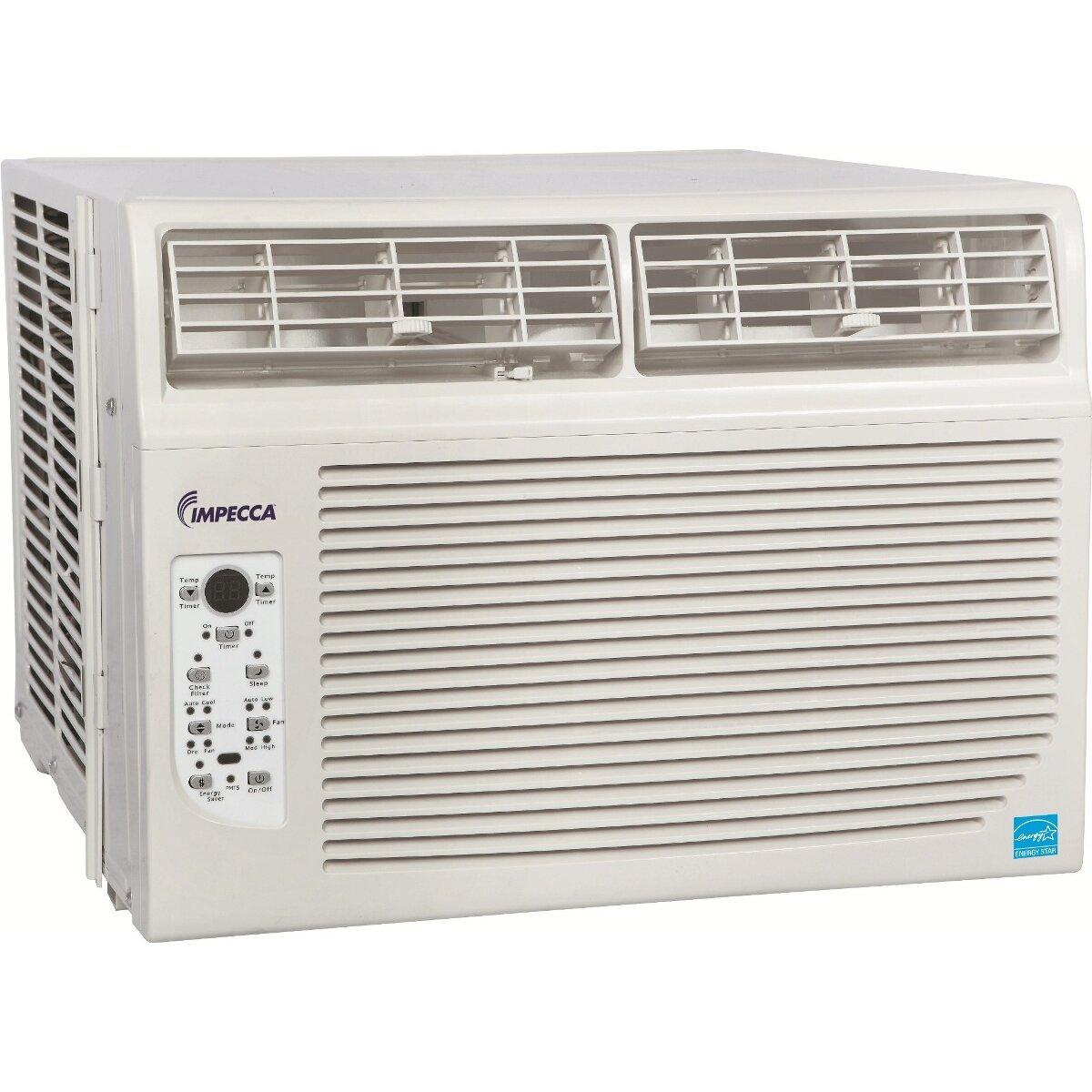 Impecca USA 8000 BTU Compact Window Air Conditioner #1090BB