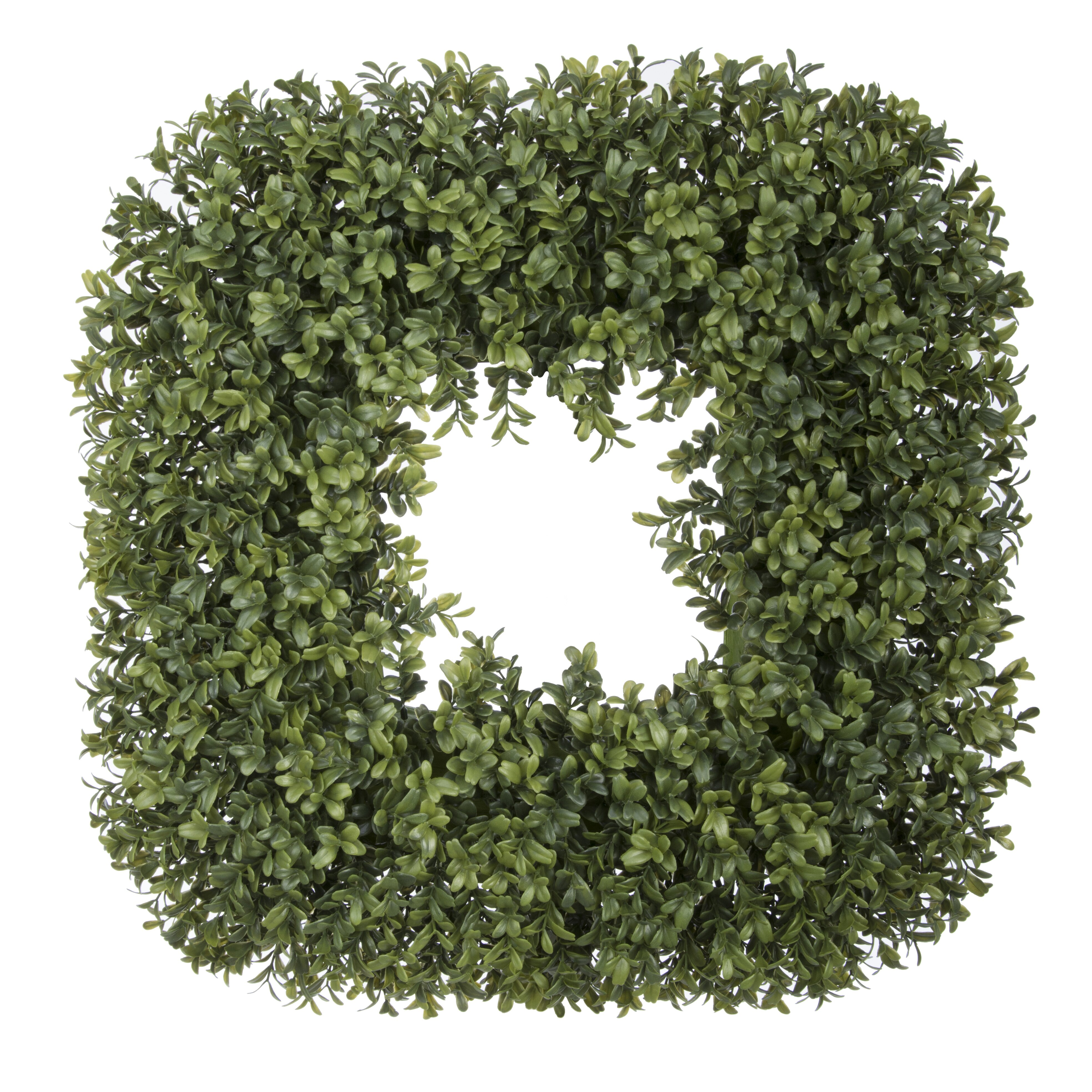 House of silk flowers 19 quot artificial boxwood wreath amp reviews