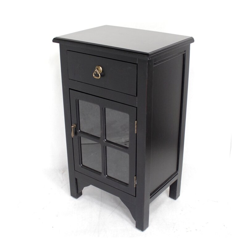 Heather Ann Wooden Cabinet With 1 Drawer And 1 Door Reviews Wayfair