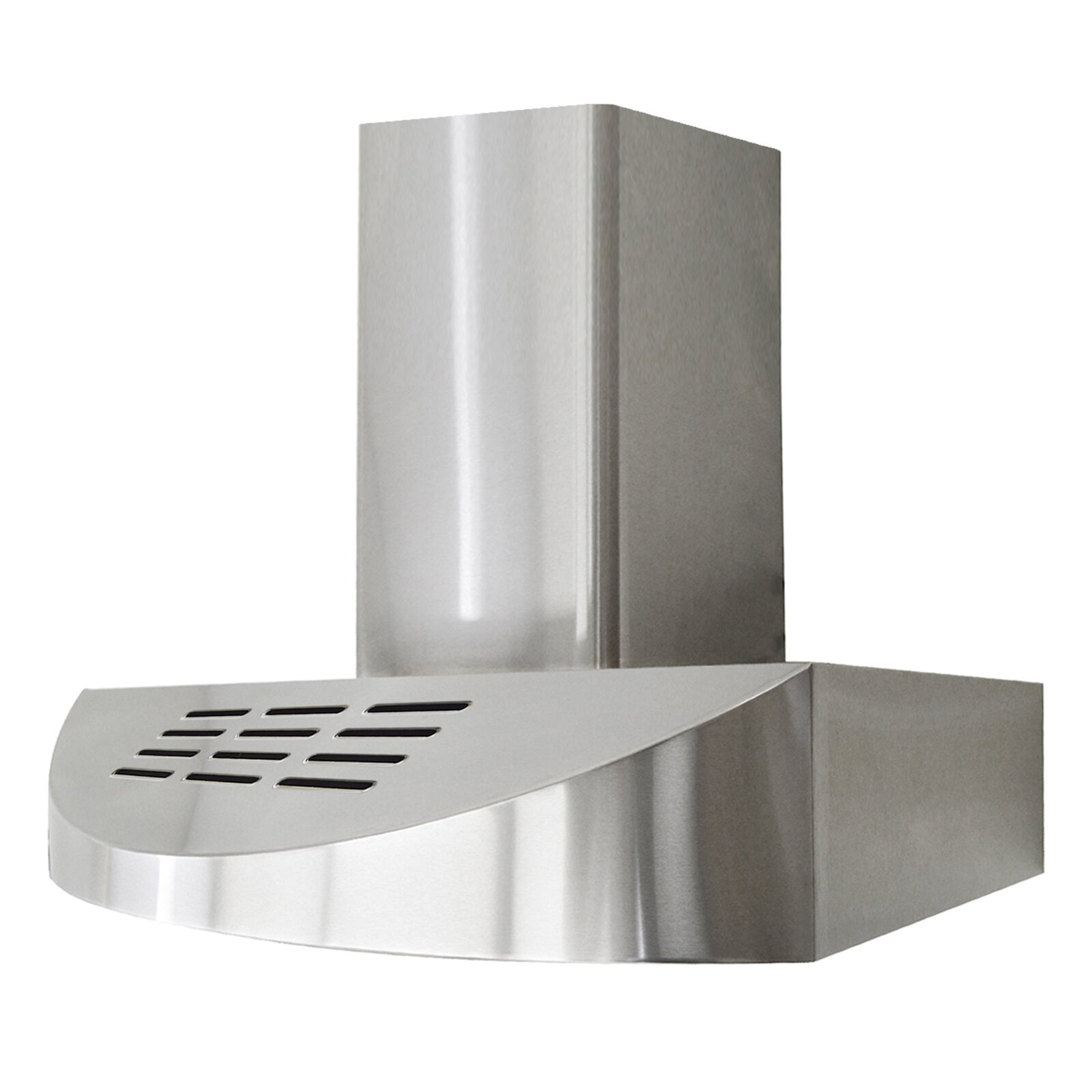 Ductless Range Hoods ~ Brillia quot cfm ductless wall mounted range hood wayfair