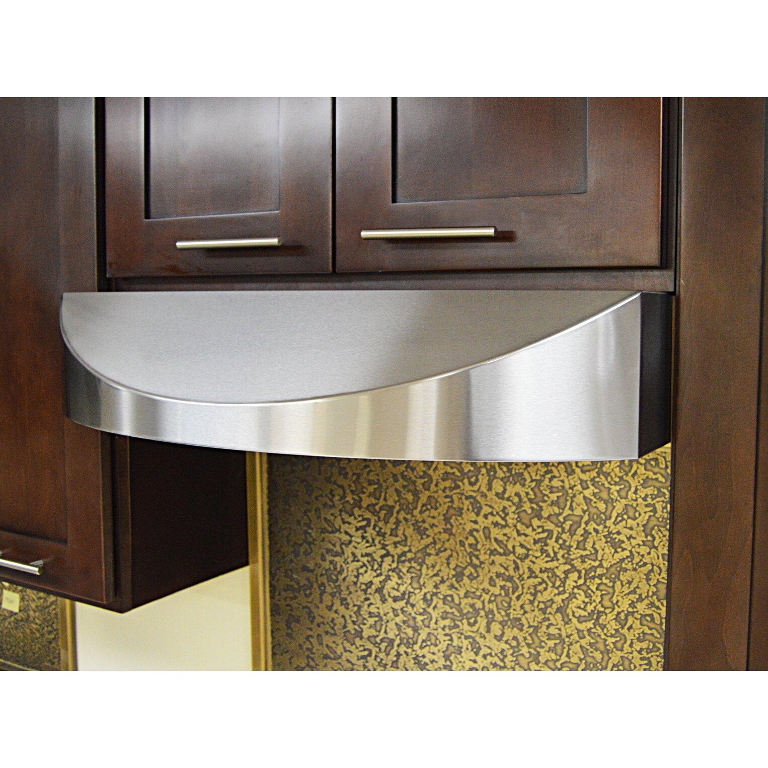 kobe range hoods brillia 30 650 cfm ducted under cabinet range hood reviews wayfair. Black Bedroom Furniture Sets. Home Design Ideas