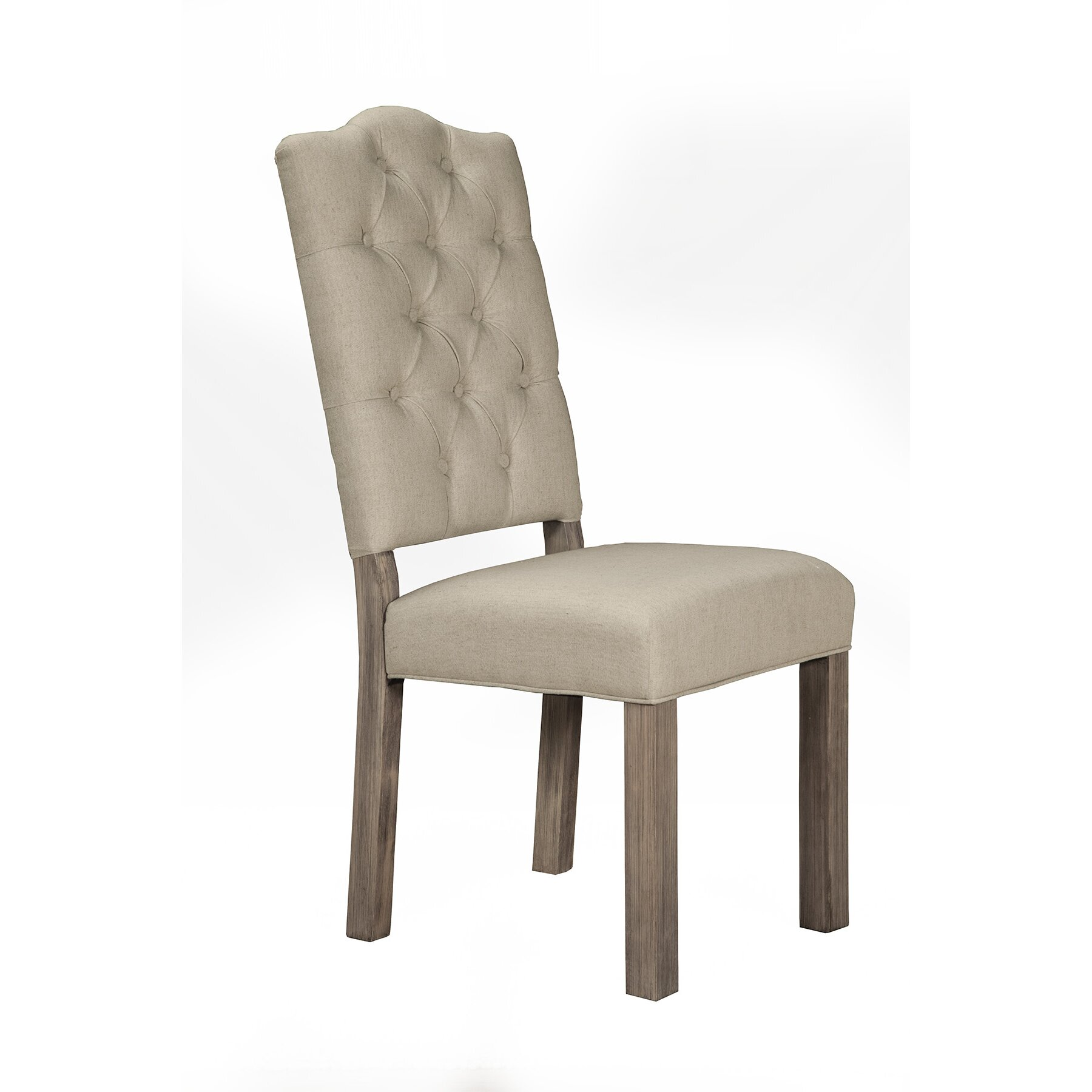 Fiji Tufted Upholstered Side Chair by Origins by Alpine