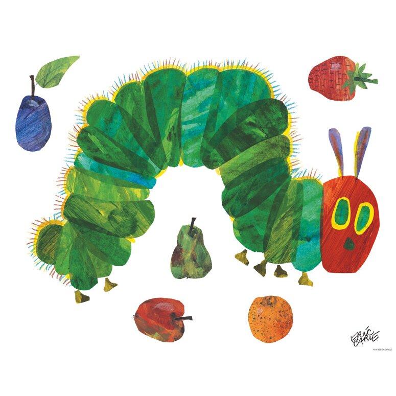 pics photos very hungry caterpillar eric carle wall the very hungry caterpillar nursery and playroom wall