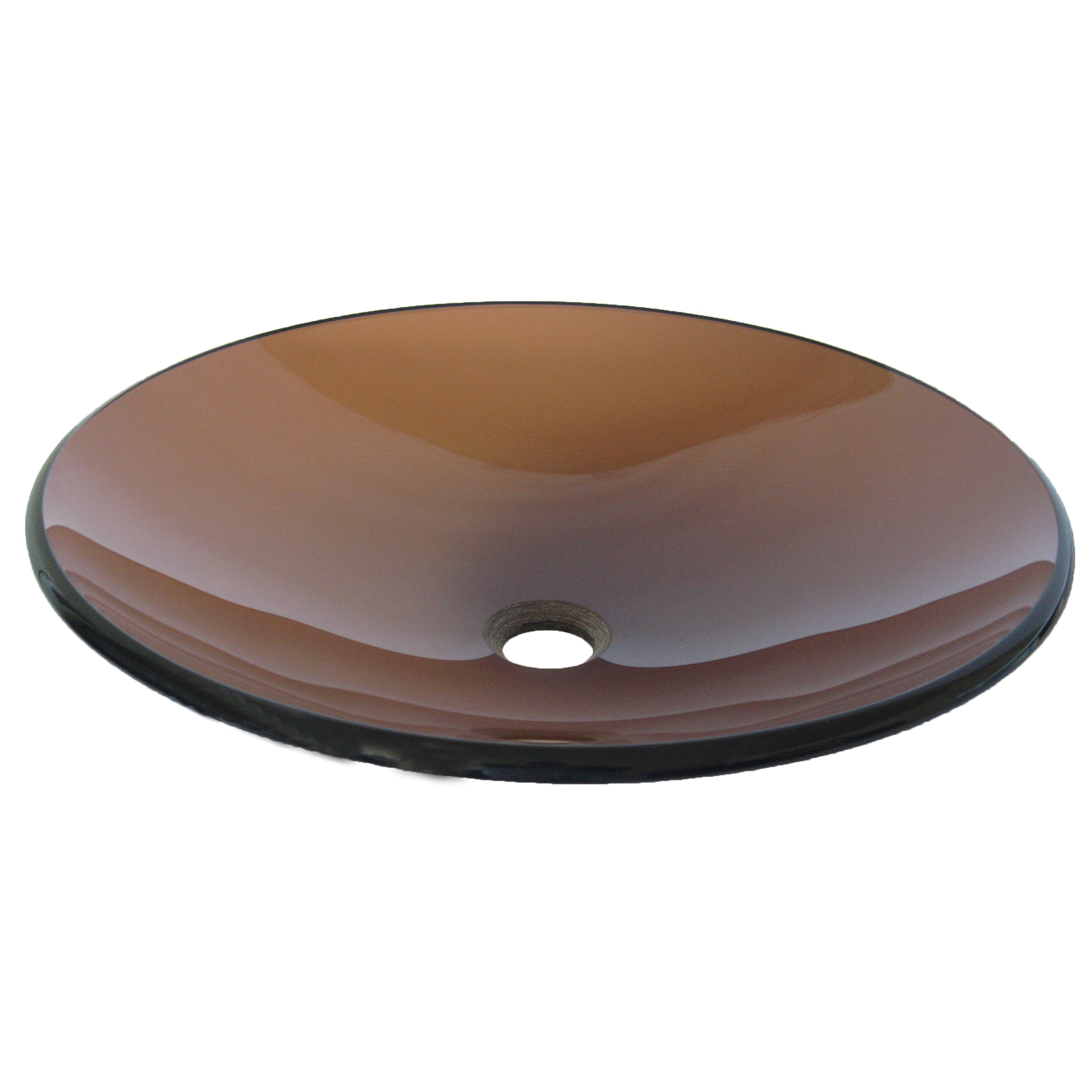 Novatto Low Profile Glass Vessel Bathroom Sink & Reviews Wayfair