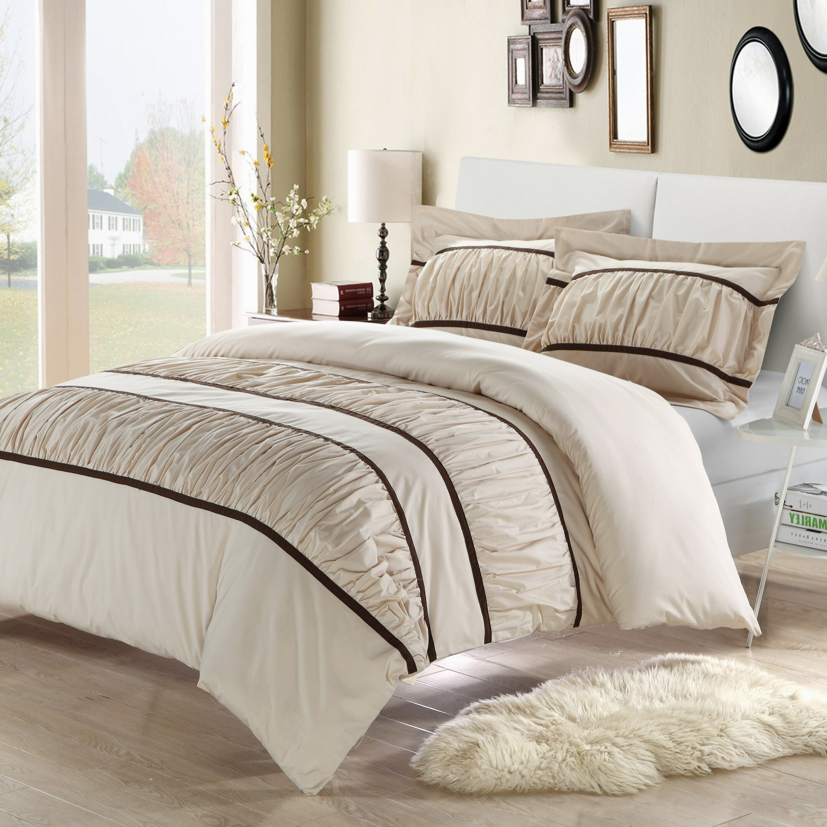 Pin Up Bed Covers Chic Home Betsy%c%a Piece Duvet Cover Set Dc