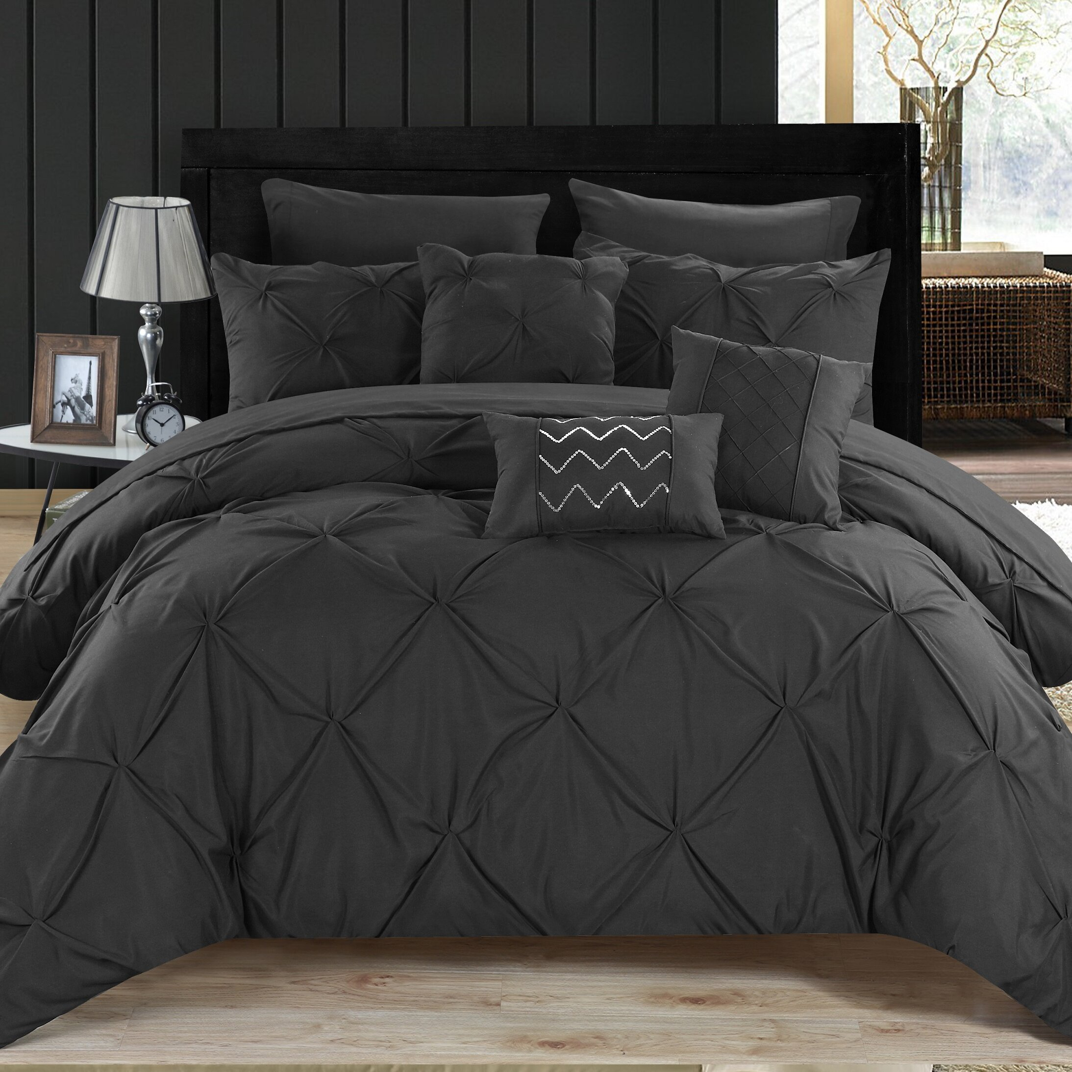 chic home hannah 10 piece comforter set  reviews  wayfair