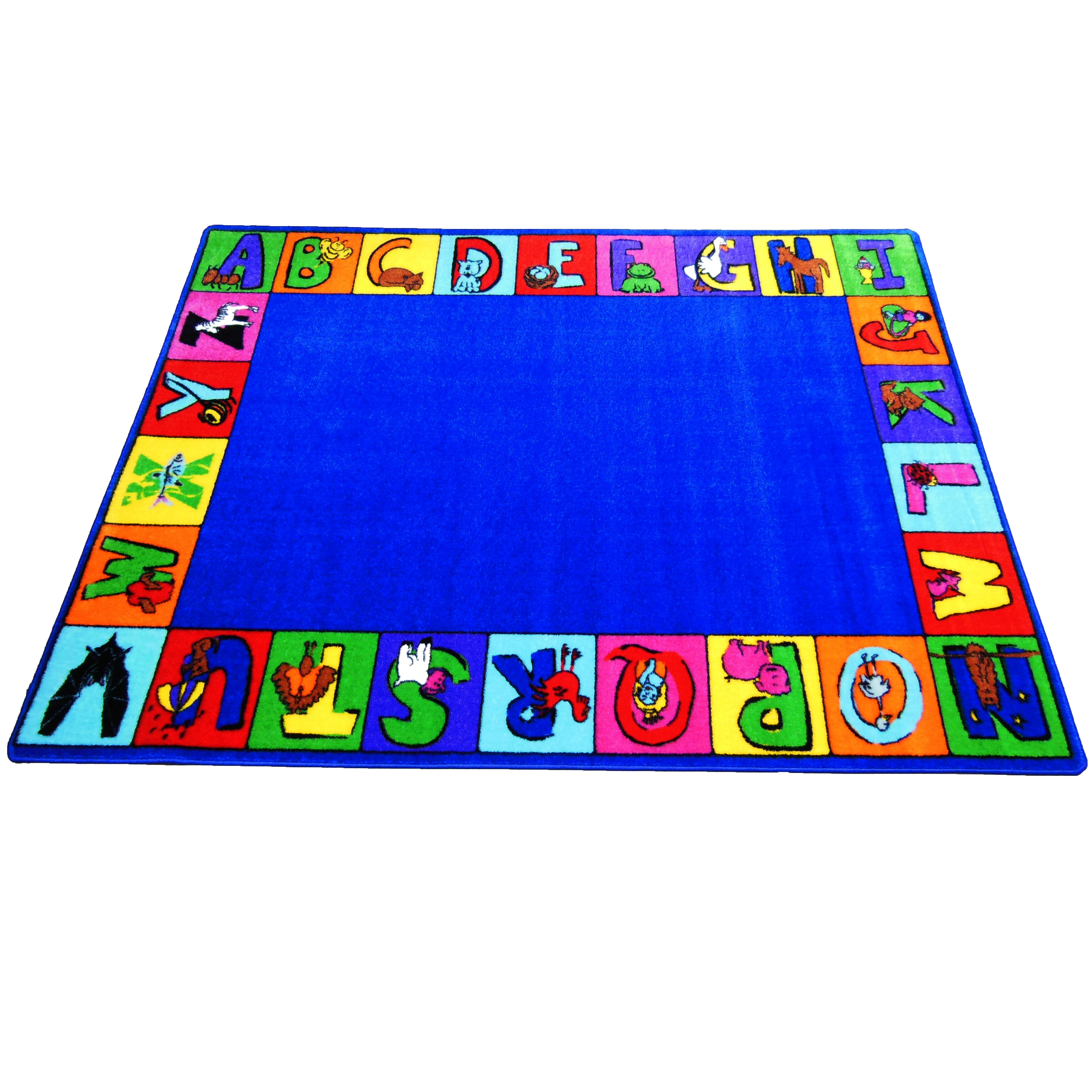 Kids World My ABC Squares Area Rug & Reviews
