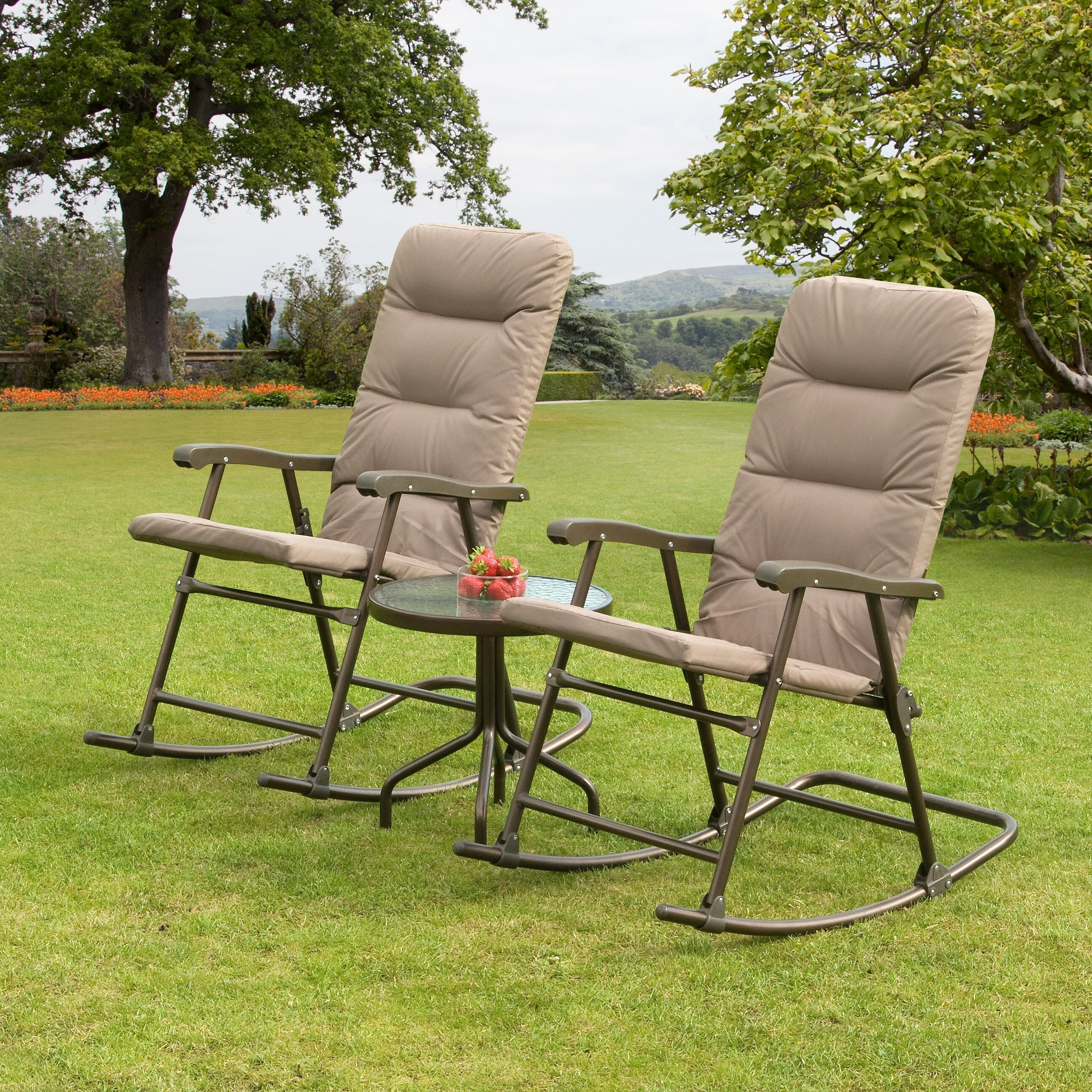 SunTime Outdoor Living Hereford 3 Piece Rocker Seating ... on Suntime Outdoor Living id=29049