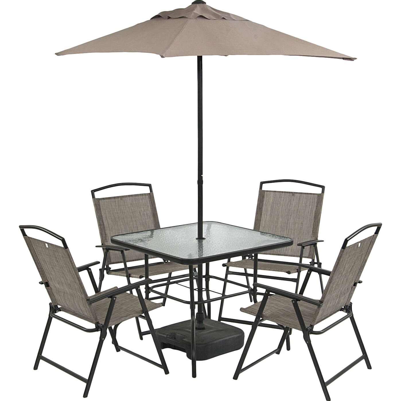 SunTime Outdoor Living Oasis 7 Piece Dining Set & Reviews ... on Suntime Outdoor Living id=41810