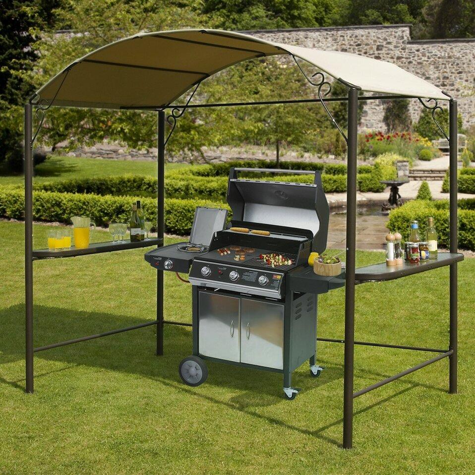 SunTime Outdoor Living 8ft. H x 8ft. W x 5ft. D BBQ Gazebo ... on Suntime Outdoor Living id=34449