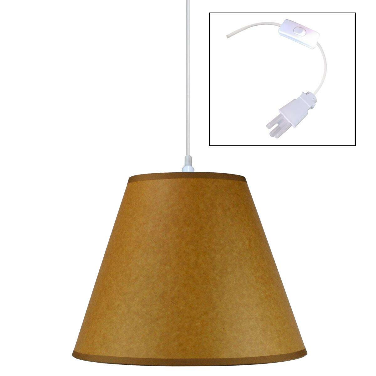 home concept swag 1 light mini pendant reviews wayfair. Black Bedroom Furniture Sets. Home Design Ideas