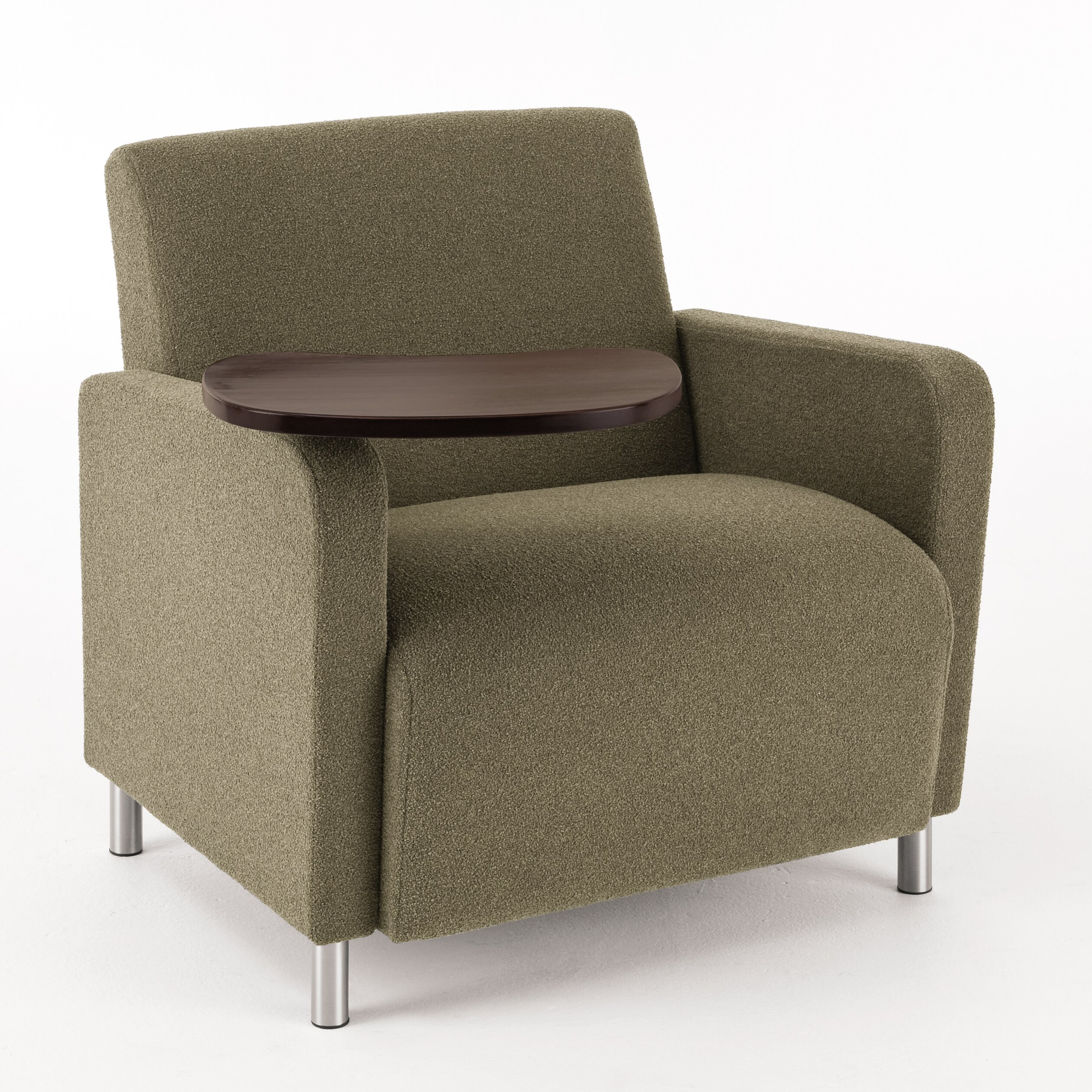 Lesro Ravenna Series Lounge Chair with Casters & Reviews