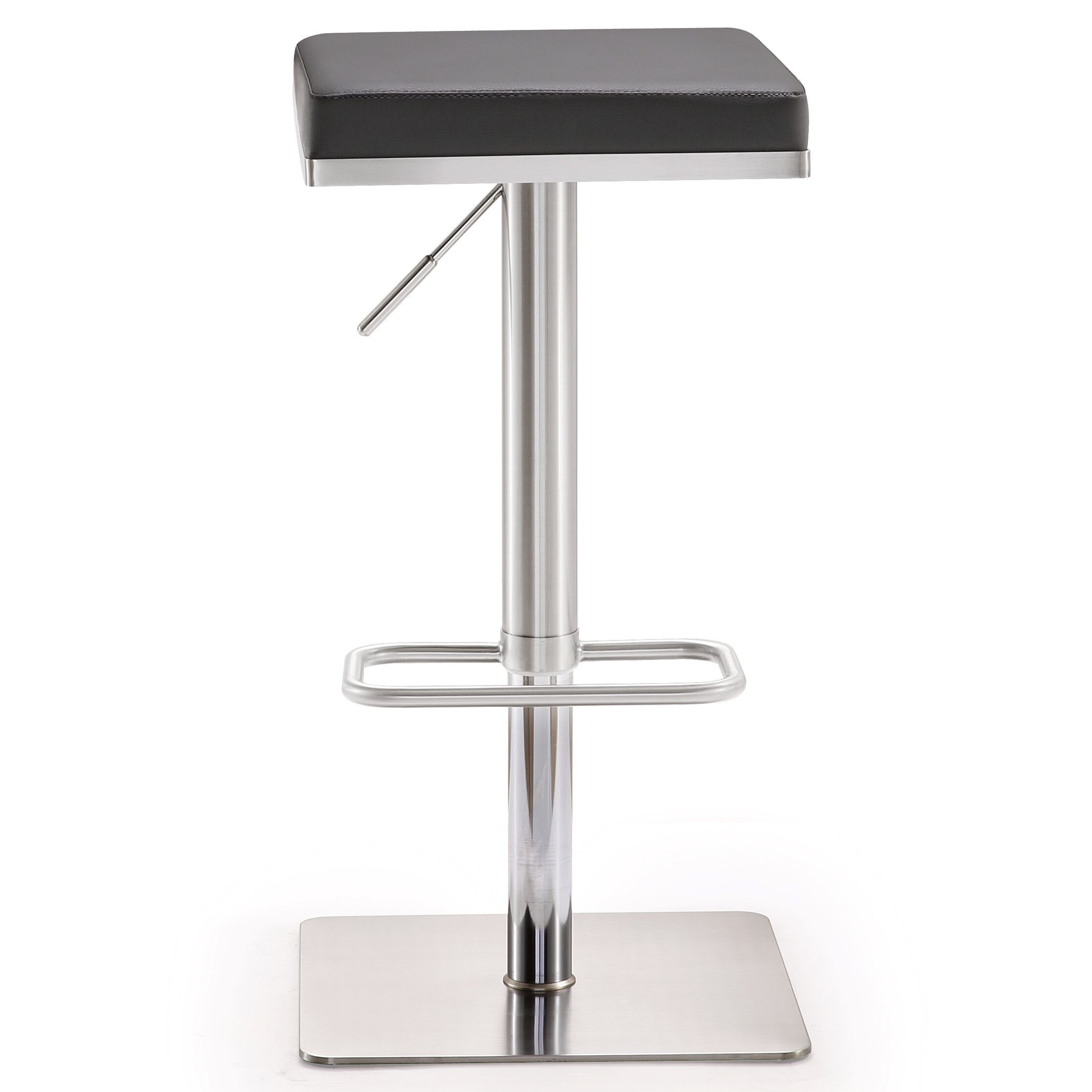 TOV Bari Adjustable Height Swivel Bar Stool with Cushion  : Bari Adjustable Height Swivel Bar Stool with Cushion TOV K362 from www.wayfair.com size 2232 x 2232 jpeg 213kB