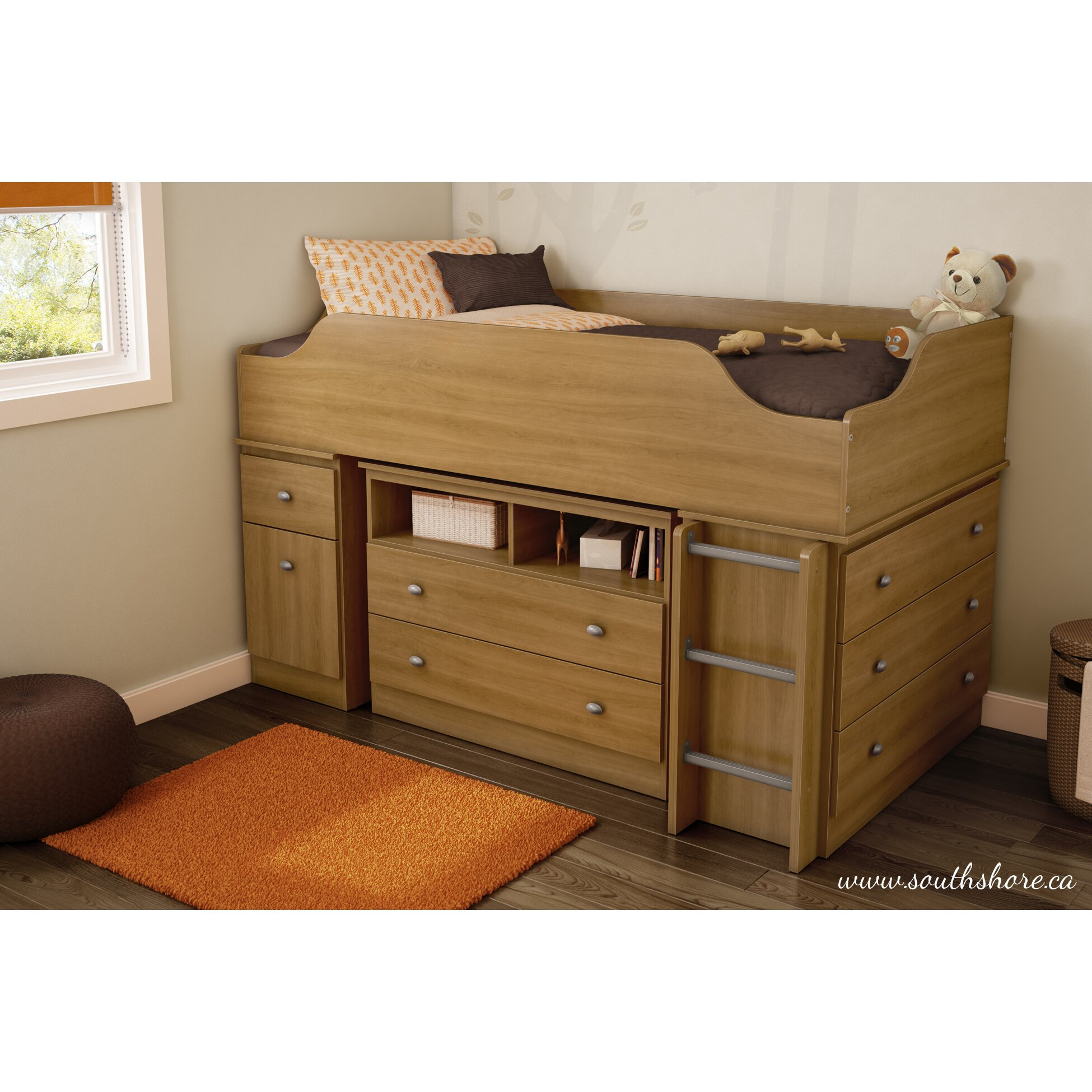 south shore tree house twin loft bed customizable bedroom