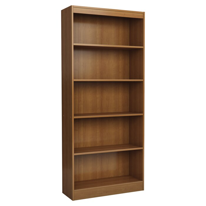 south shore axess 5 shelf 71 standard bookcase reviews. Black Bedroom Furniture Sets. Home Design Ideas