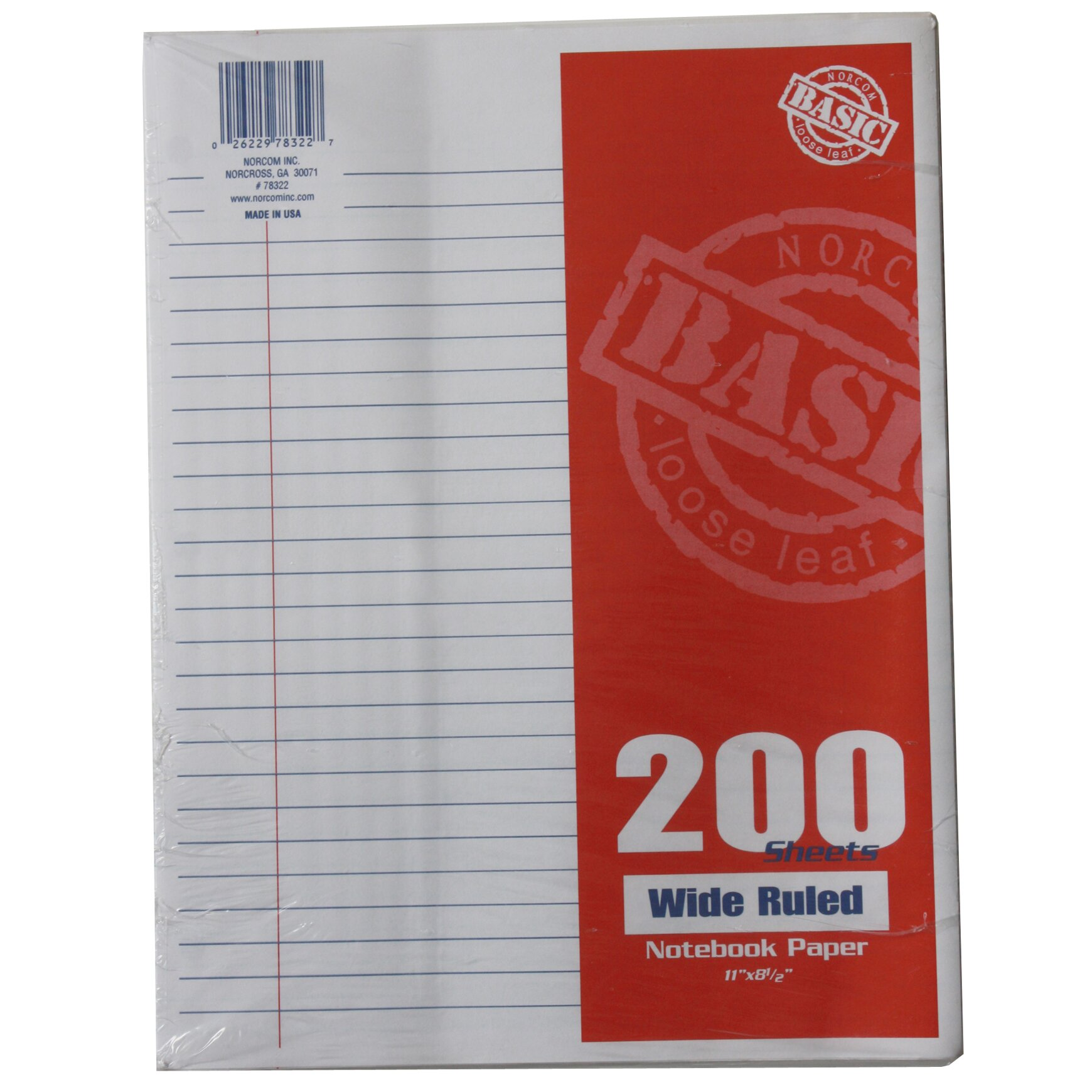 wide ruled loose leaf paper Explore discounts on wide ruled loose leaf paper compare prices, & save money on brands such as mead, tops and ampad at bizratecom.