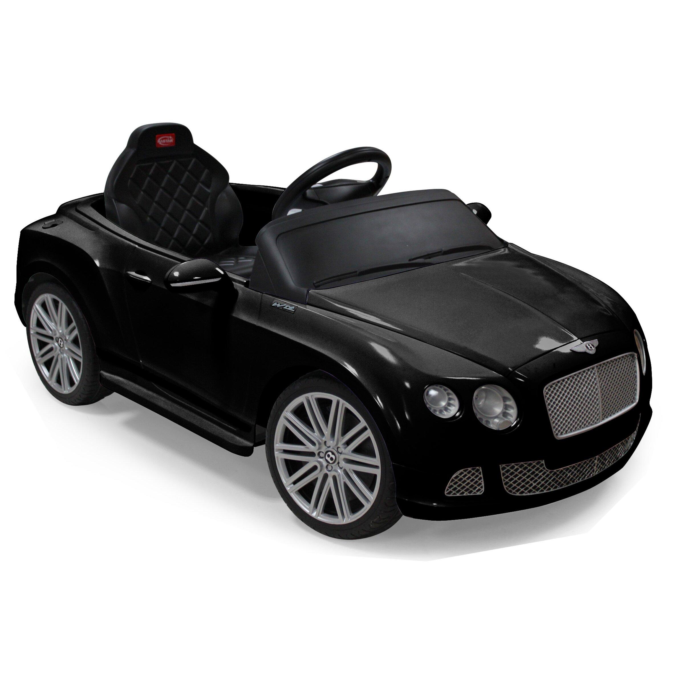 Storm Two Seater Car Vroom Rider Bentley Gtc Rastar V Battery Powered