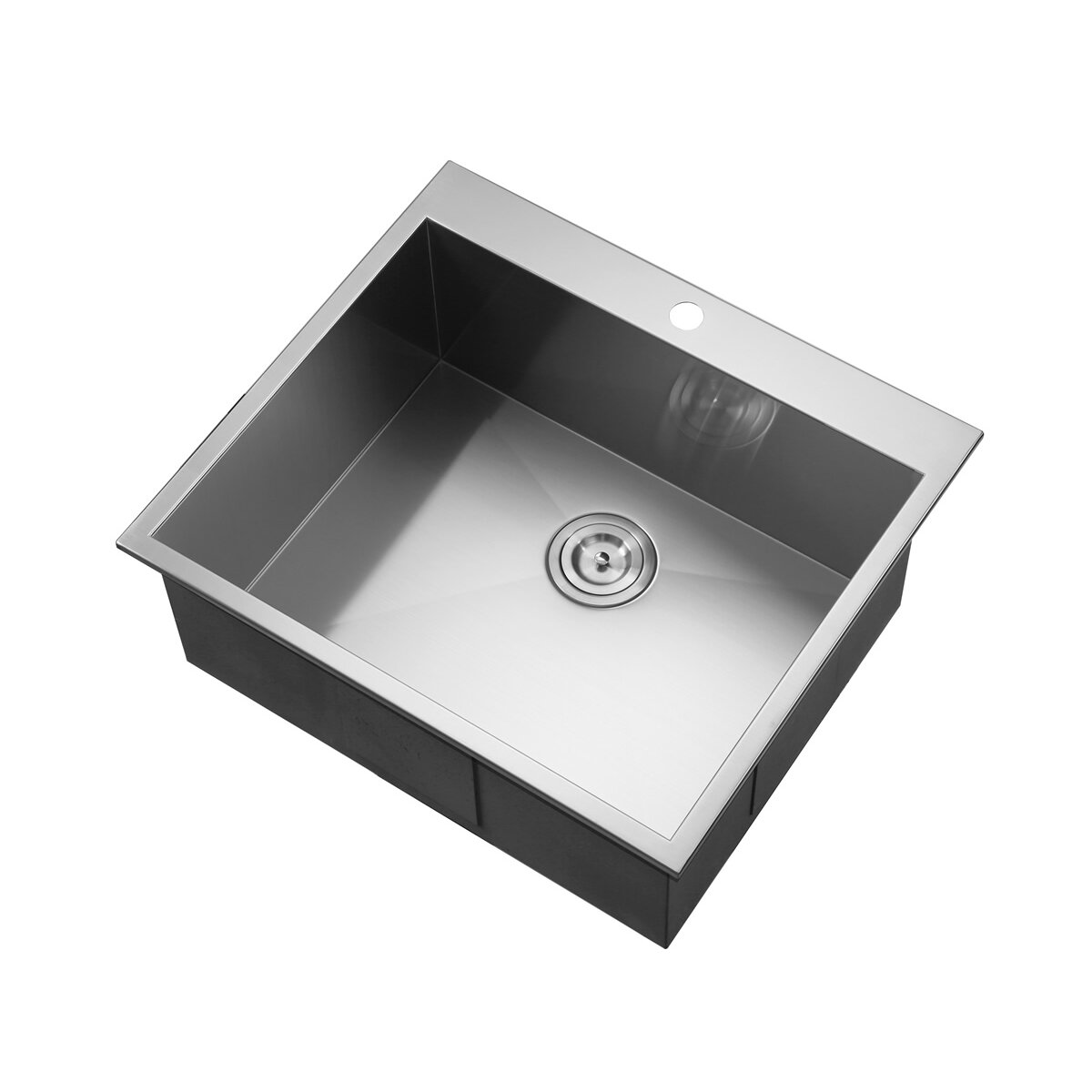 Square Overmount Kitchen Sink