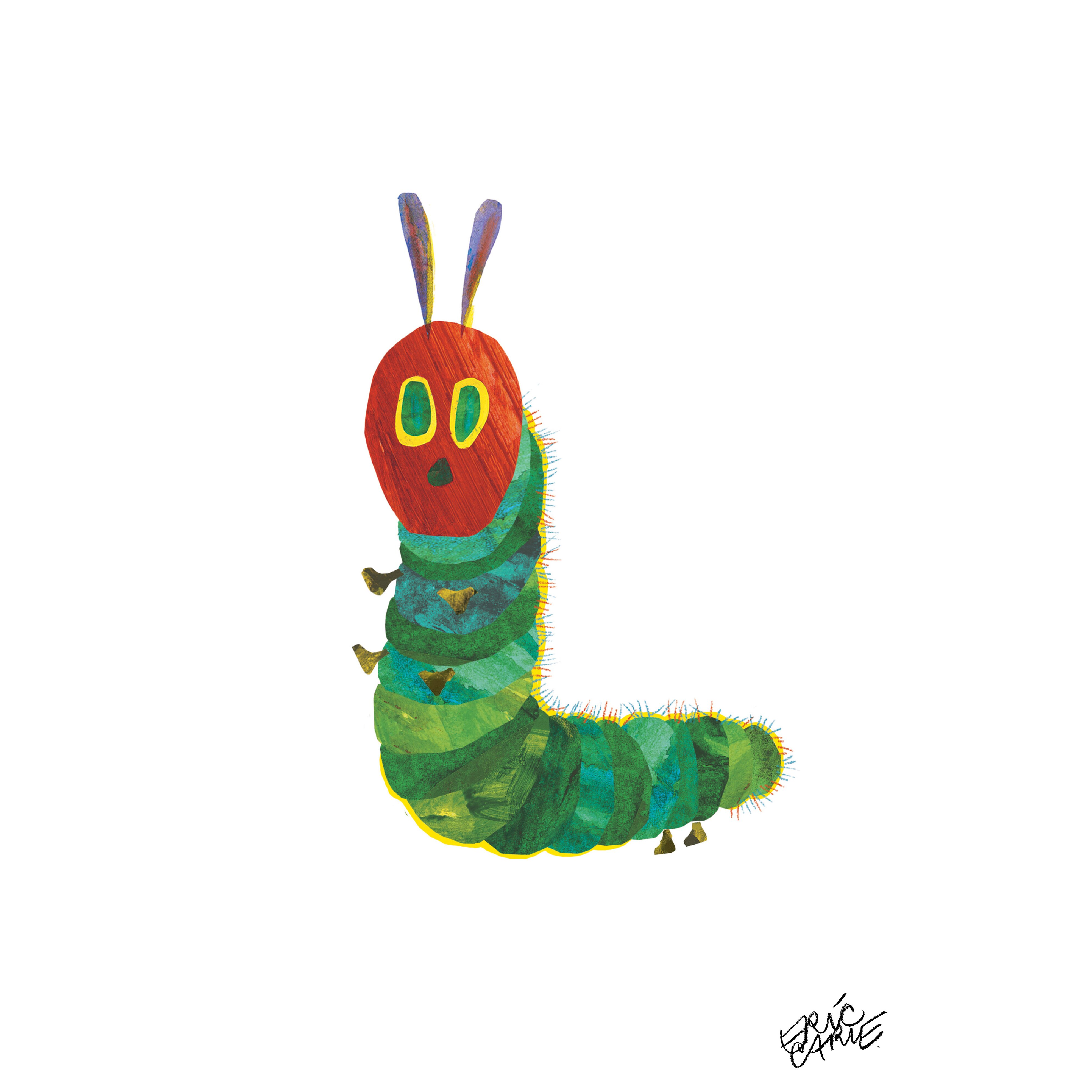 The Very Hungry Caterpillar Character Caterpillar 3 By