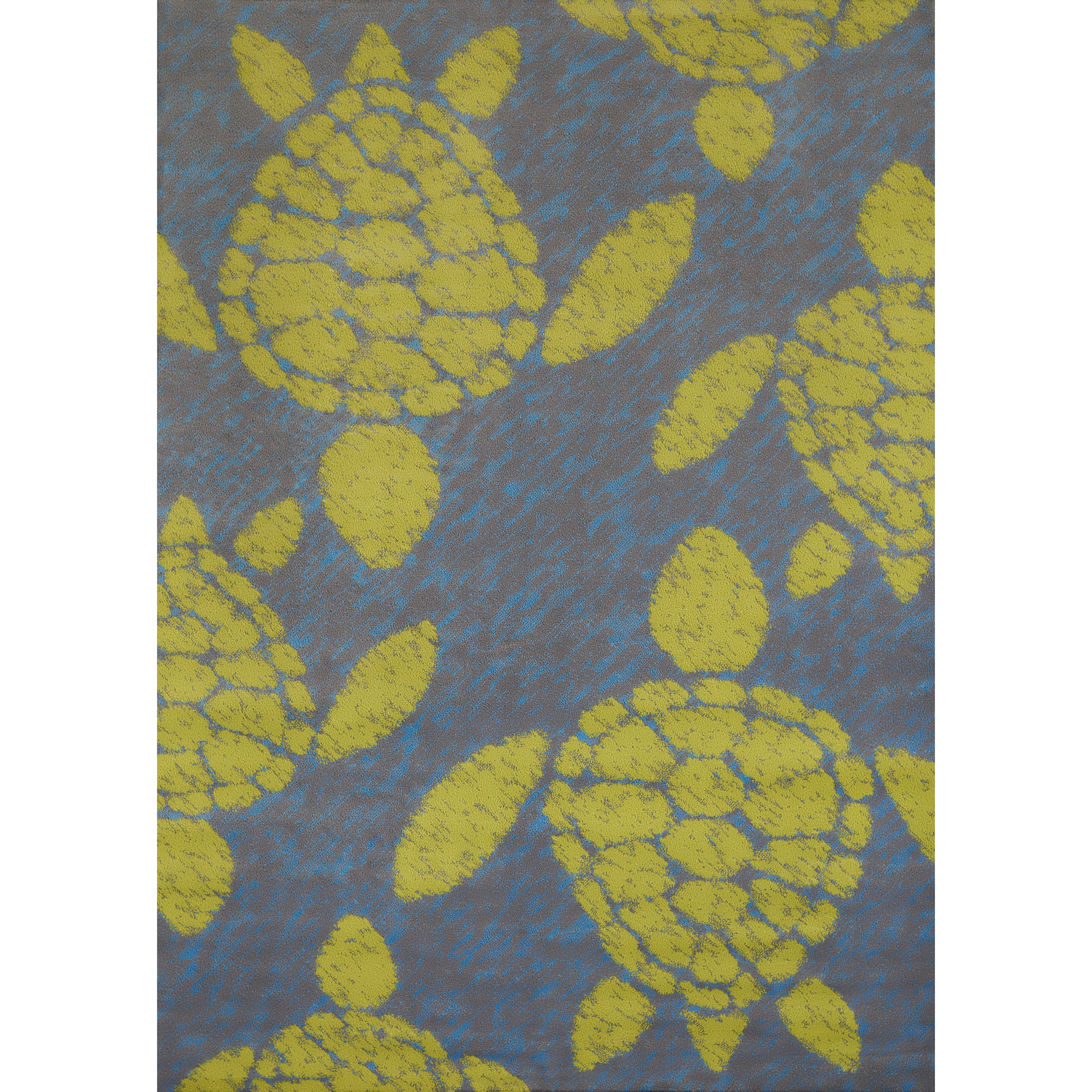 Island Breeze Sea Turtle Lime Area Rug