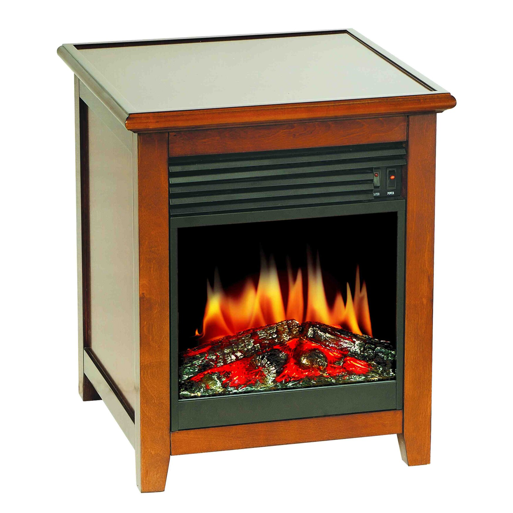 stonegate wood electric fireplace reviews wayfair