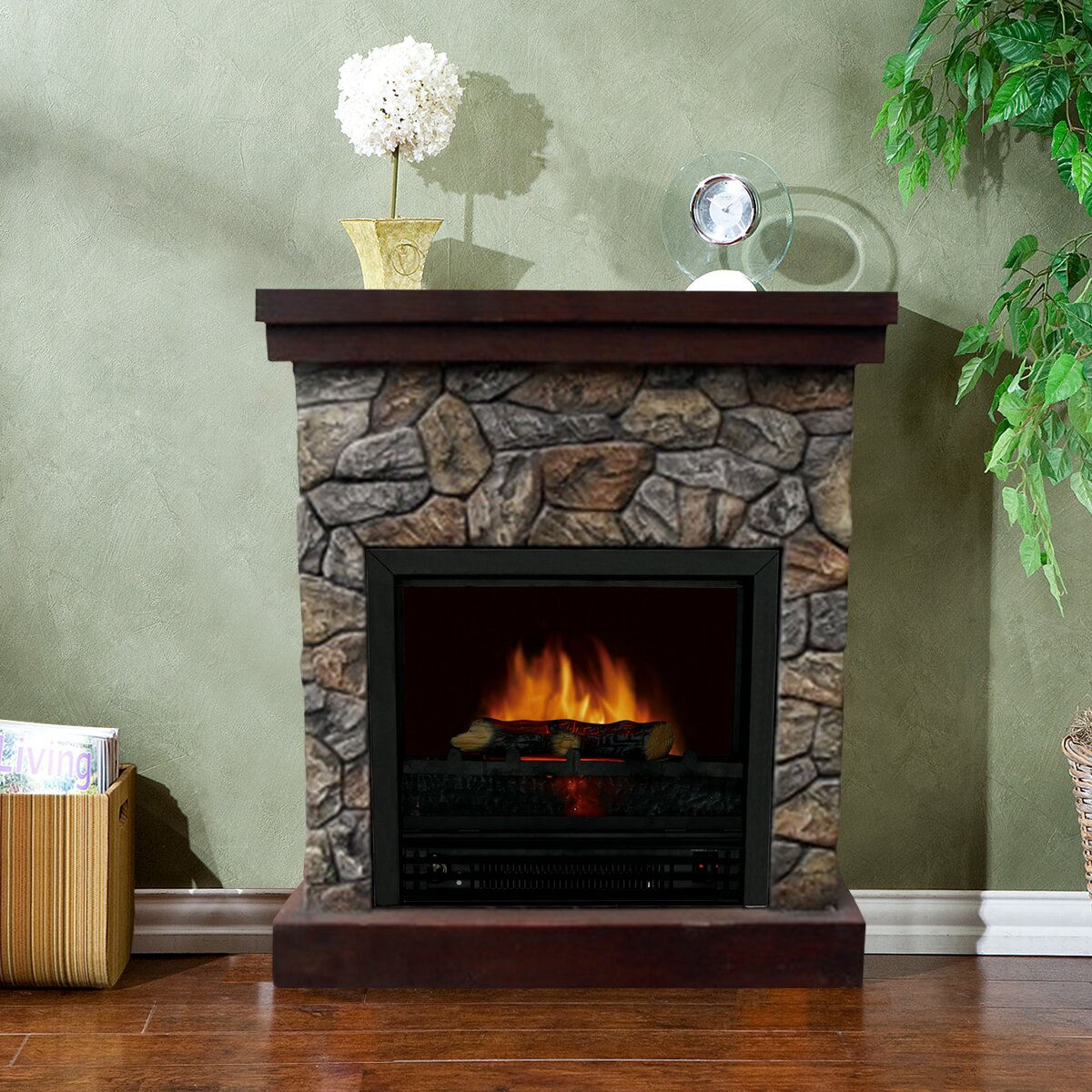 stonegate telluride electric fireplace reviews wayfair