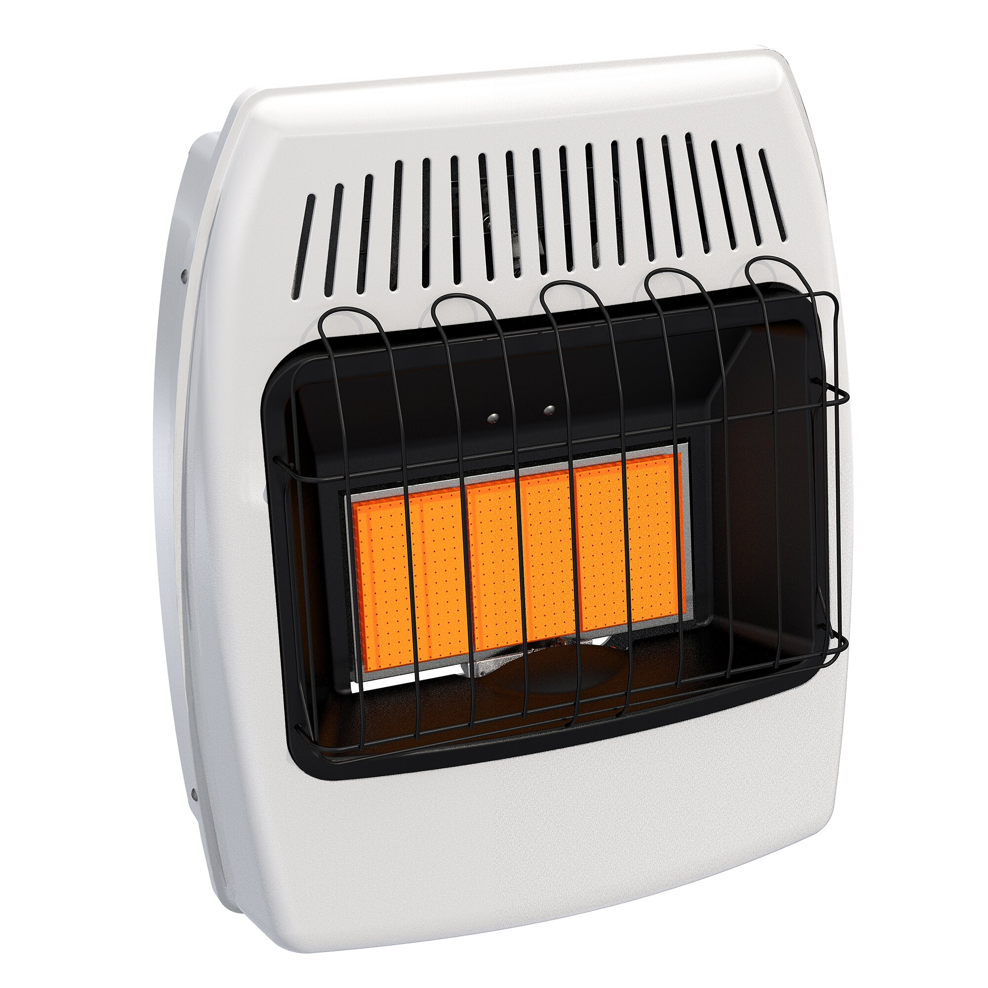 Dyna-Glo 18,000 BTU Wall Mounted Natural Gas Manual Vent-Free Heater ...