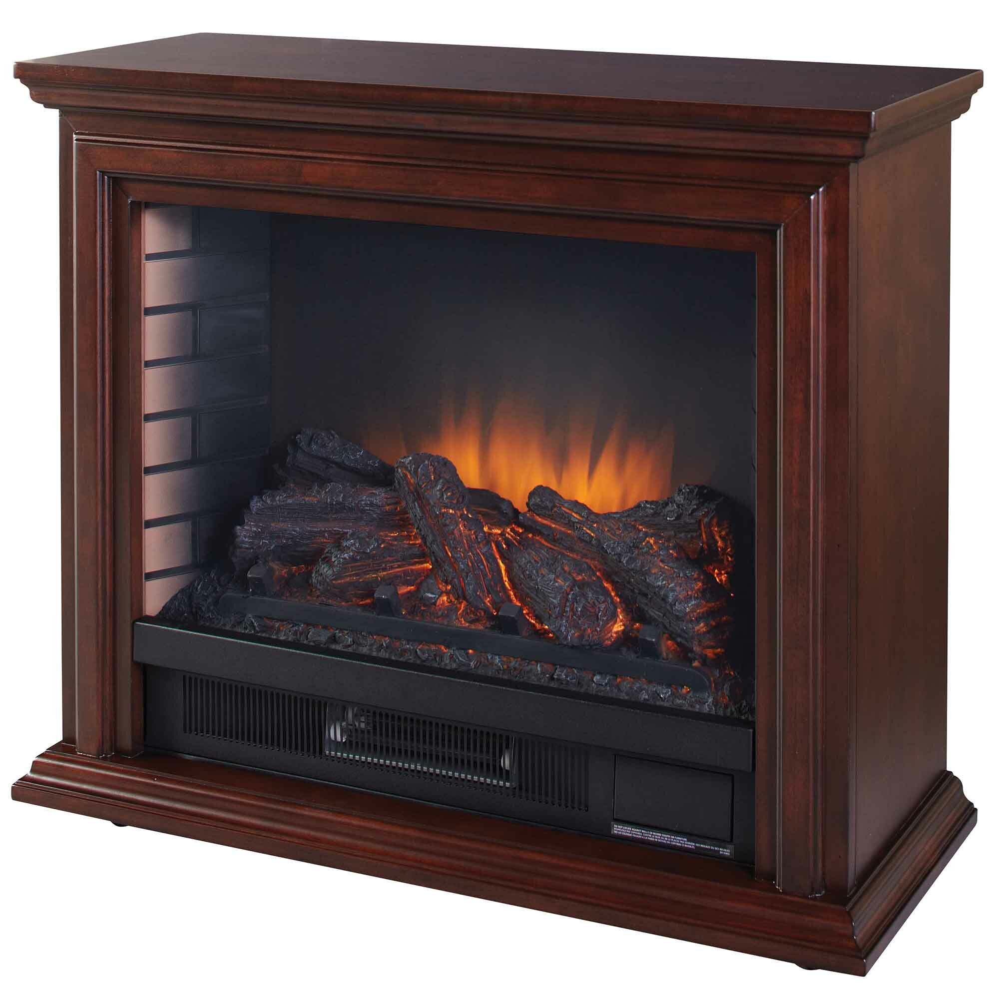Pleasant Hearth Mobile Electric Fireplace Amp Reviews Wayfair