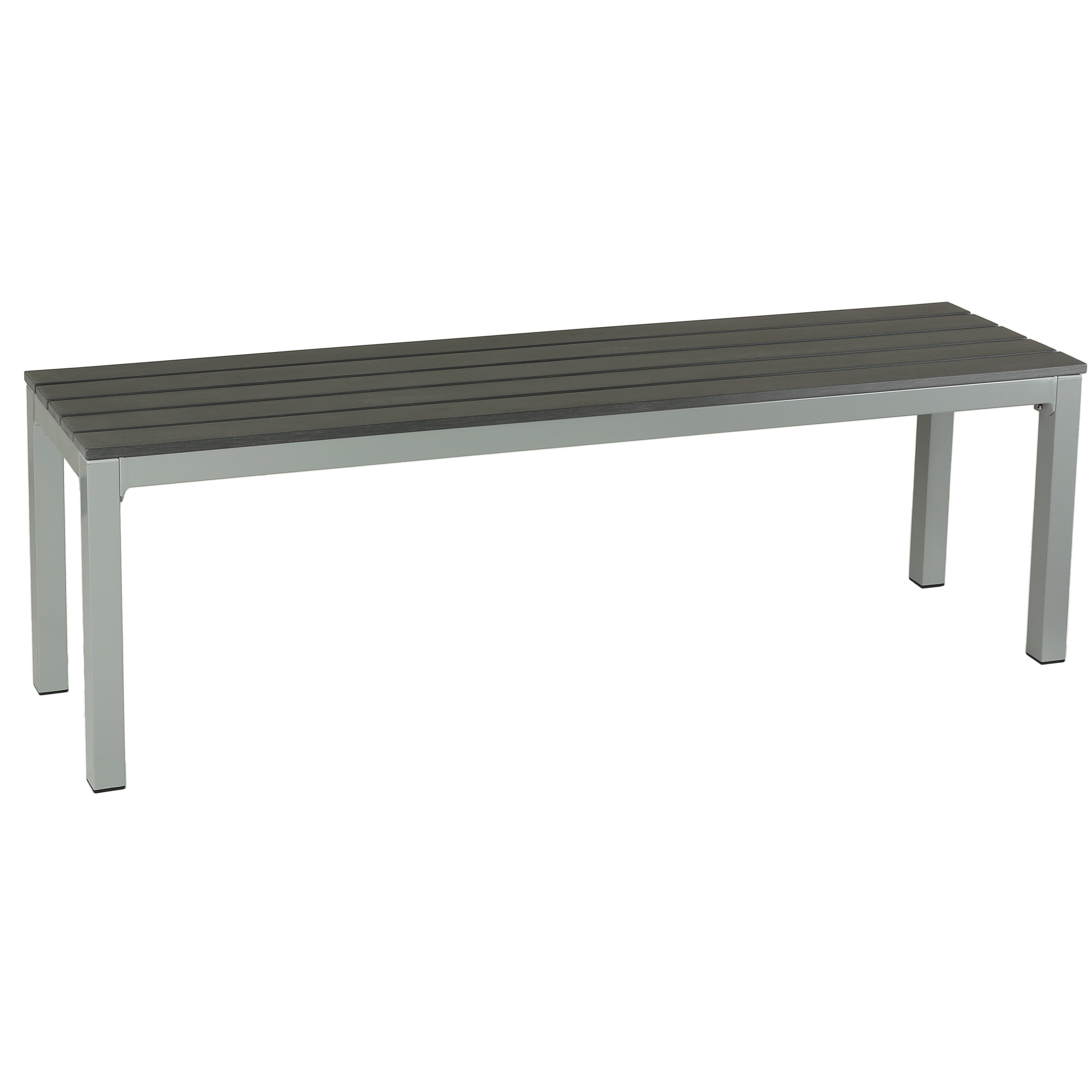 Cortesi Home Jaxon Aluminum Picnic Bench Reviews Wayfair