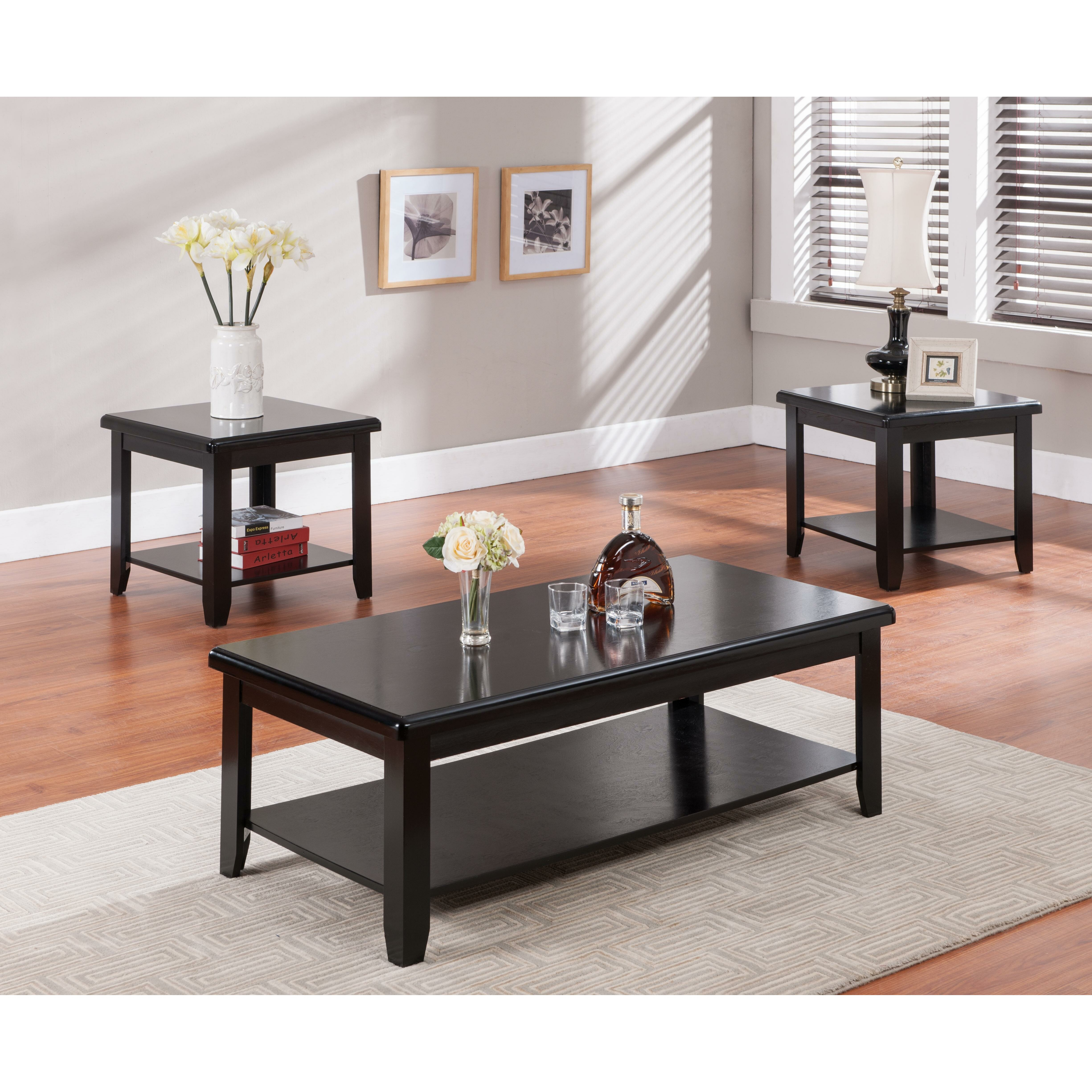 Coffee Table And End Table Sets: Milton Green Star 3 Piece Coffee Table Set & Reviews