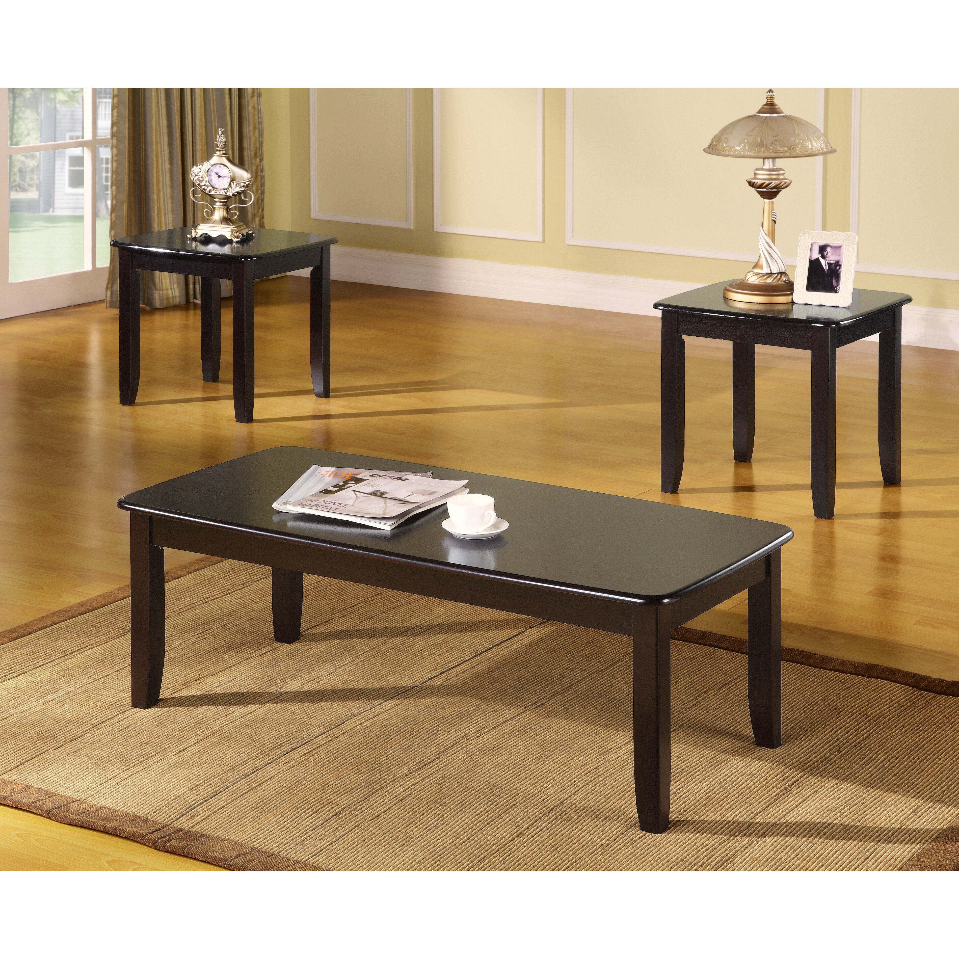 Veropeso 3 Piece Coffee Table Set: Milton Green Star 3 Piece Coffee Table Set & Reviews