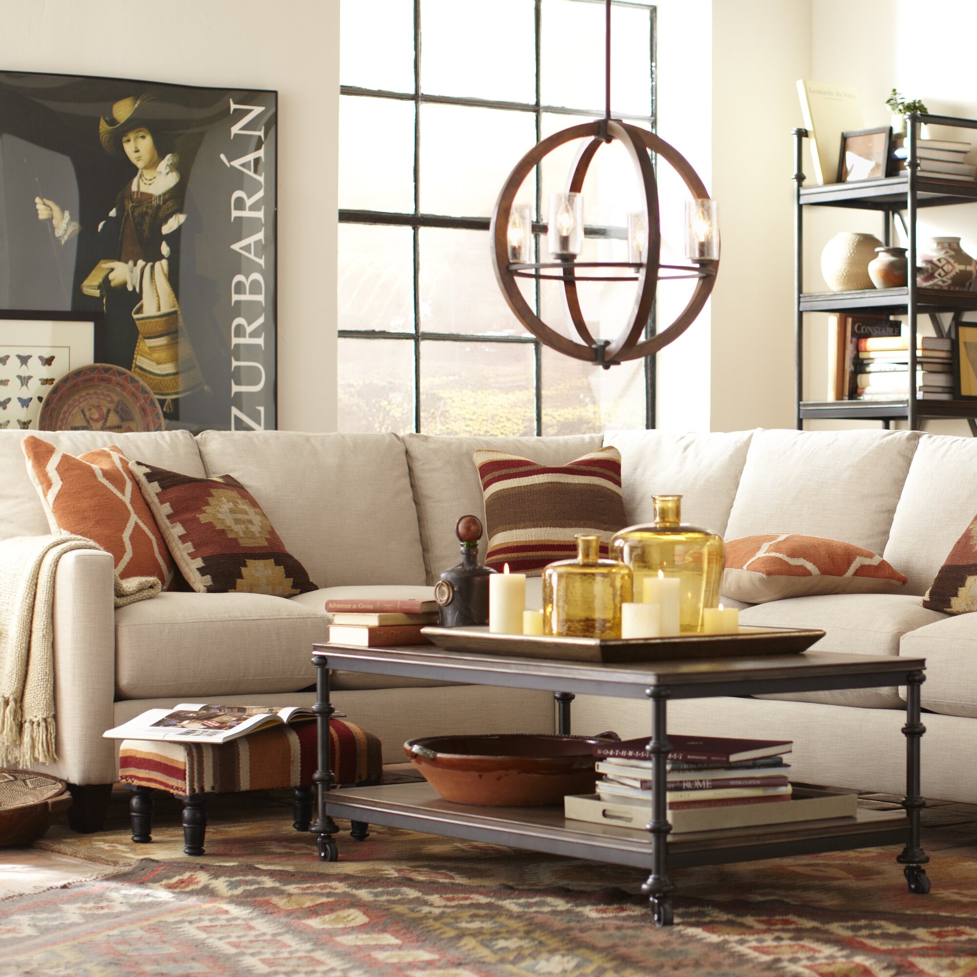 Birch Lane Kerry L Shaped Sectional & Reviews