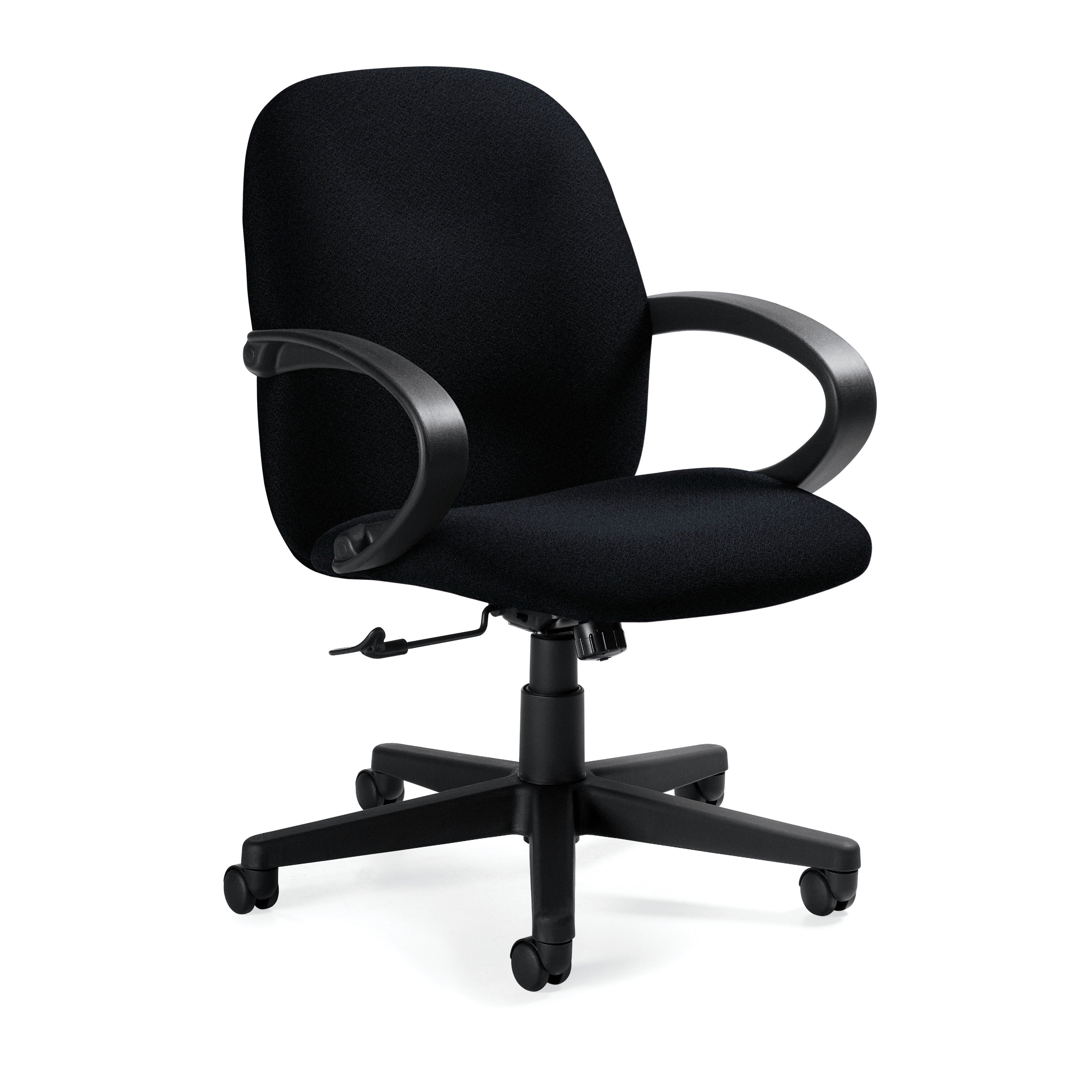 Enterprise Low Back Pneumatic fice Chair with Fixed