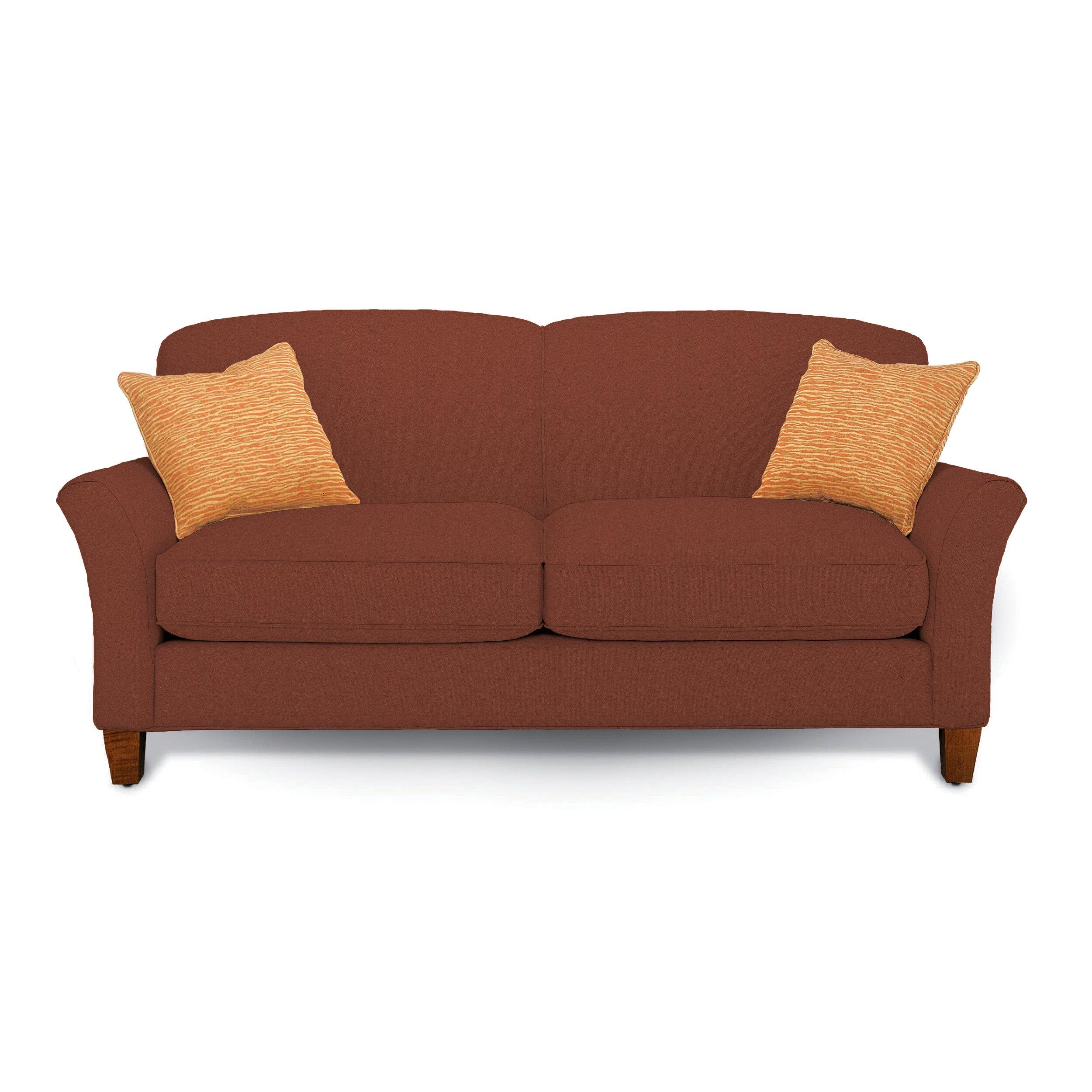 Rowe Furniture Capri Mini Mod Apartment Loveseat & Reviews