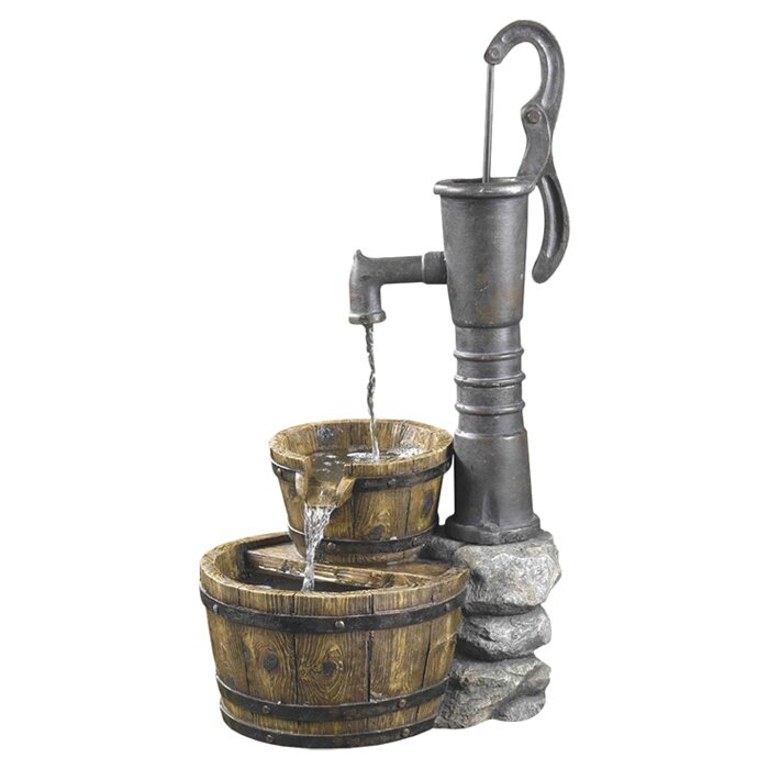Jeco Inc Old Fashioned Pump Water Fountain Reviews Wayfair