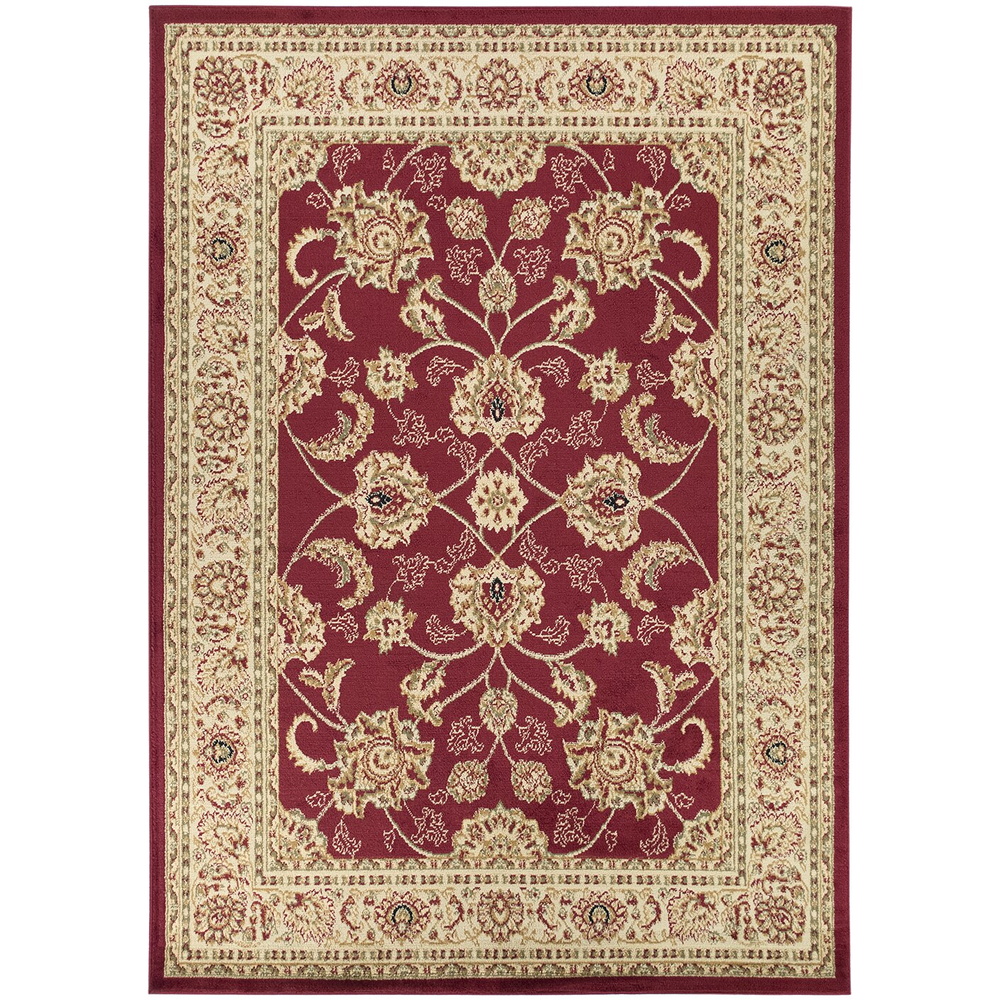 Ottomanson Royal Red Area Rug & Reviews