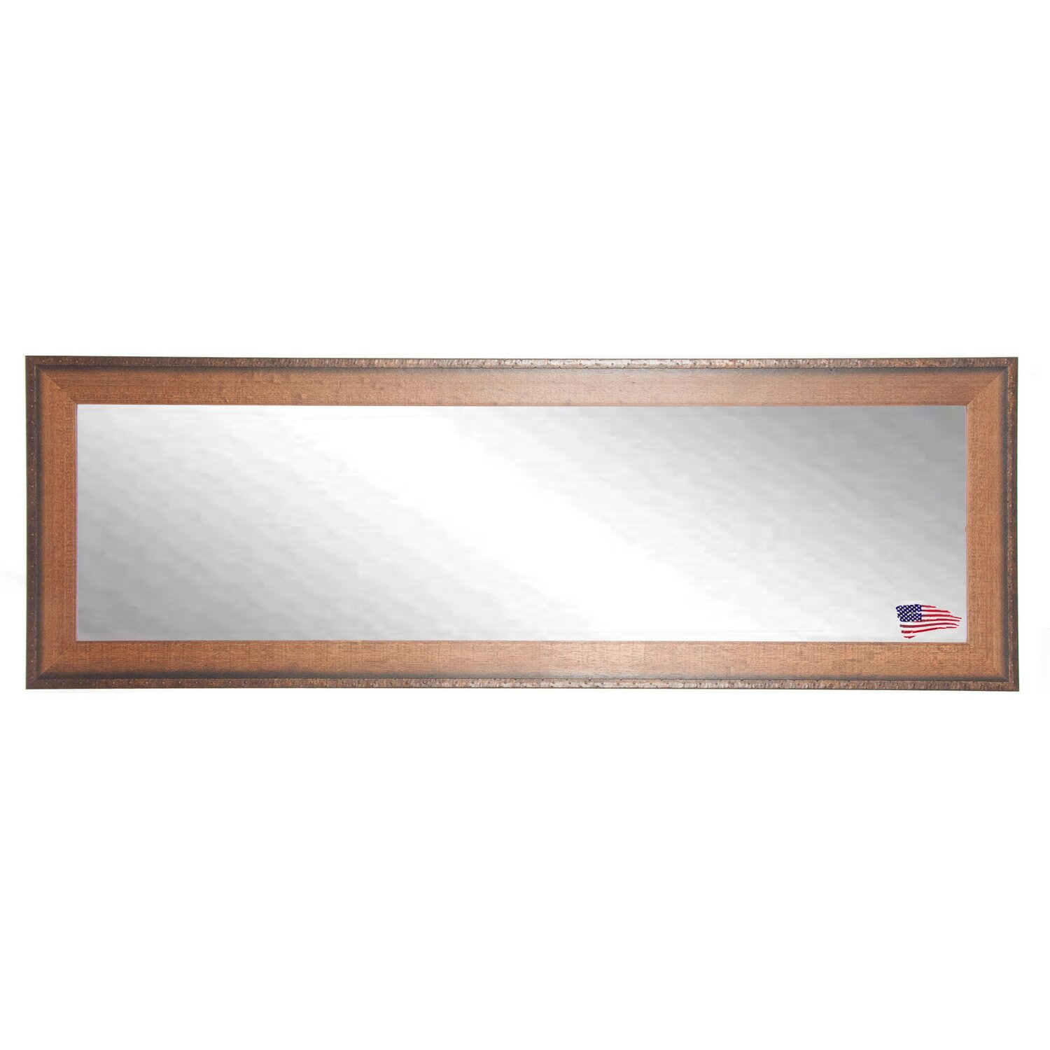 Timber estate double vanity wall mirror by rayne mirrors