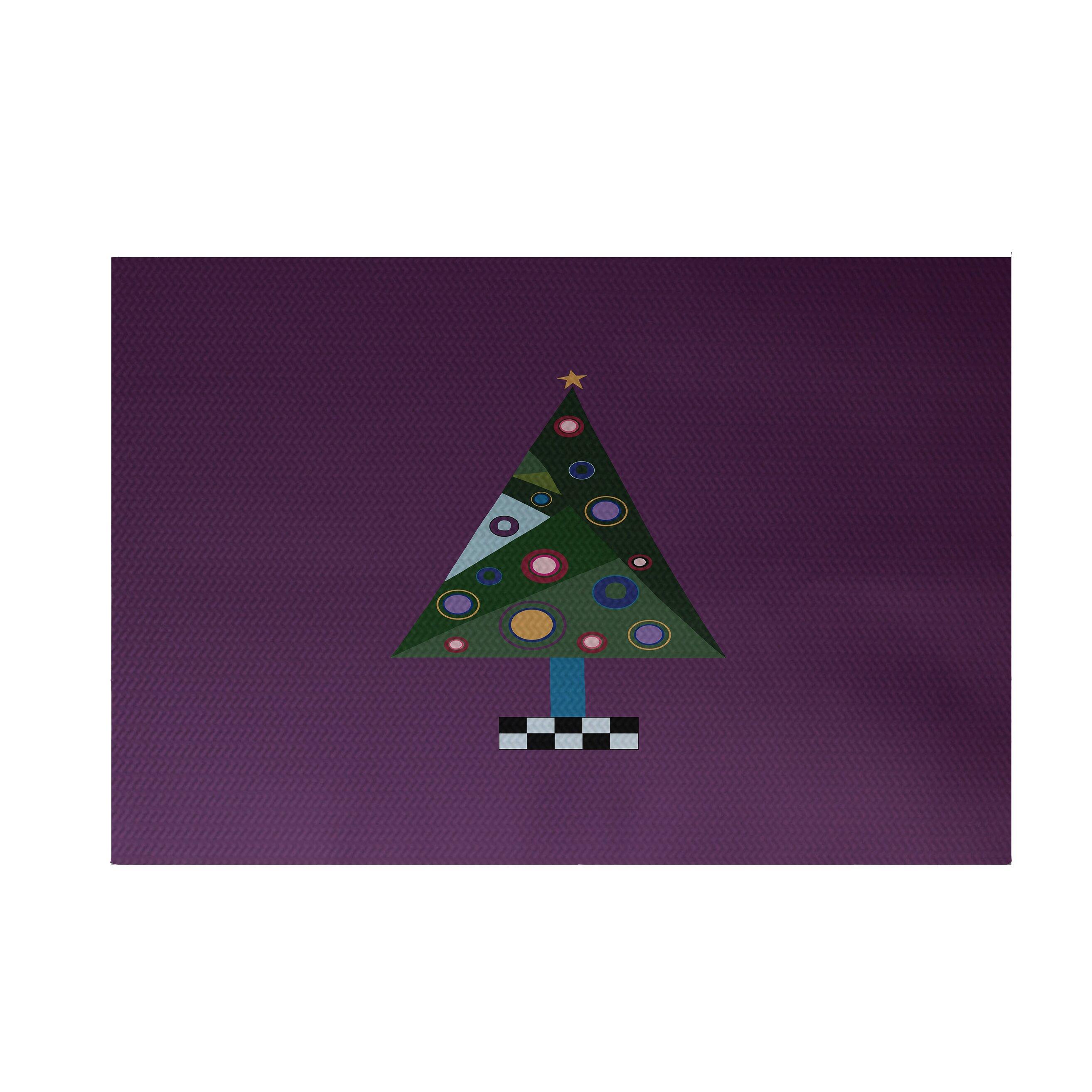 e by design Crazy Christmas Decorative Holiday Print