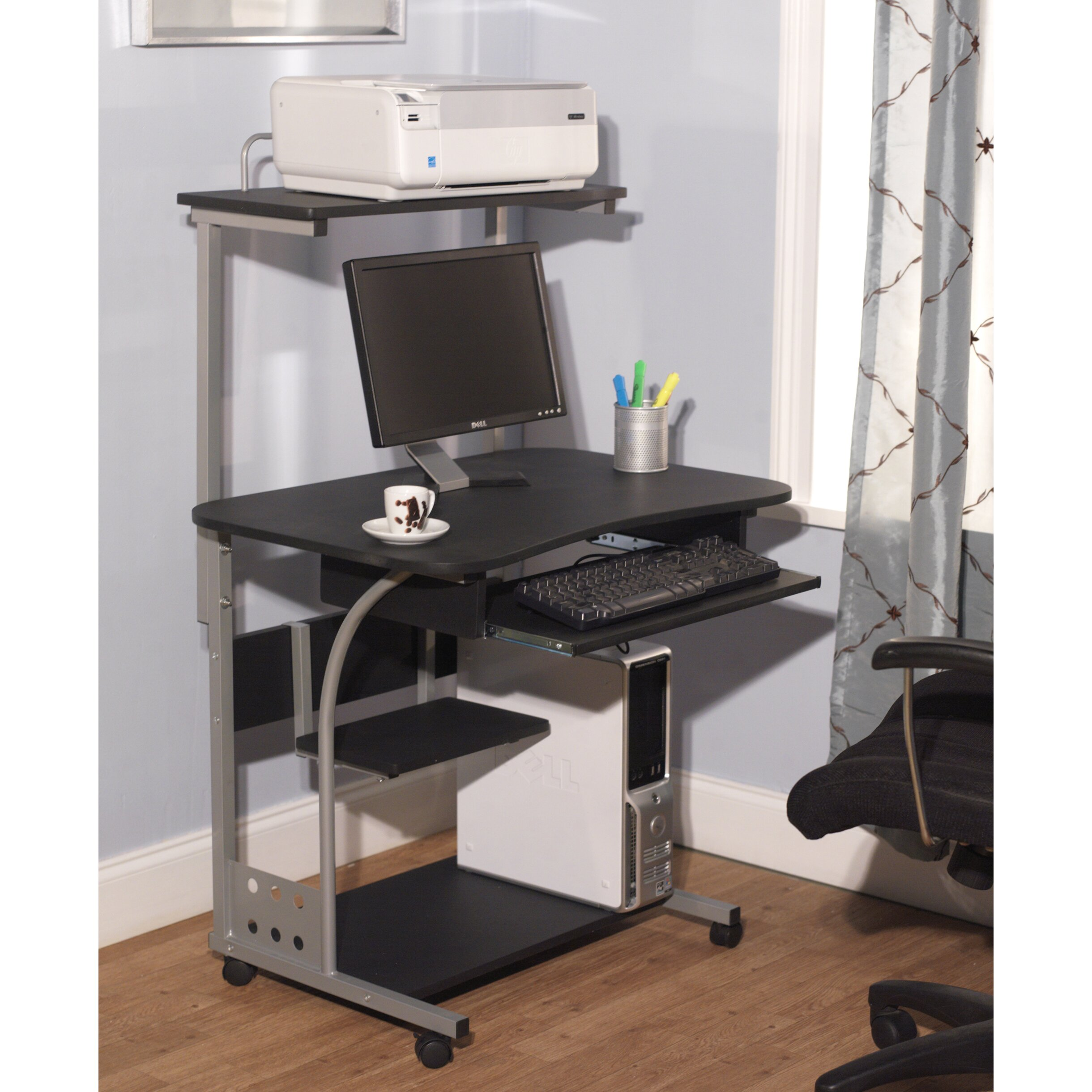 Computer Desk with Shelf by TMS