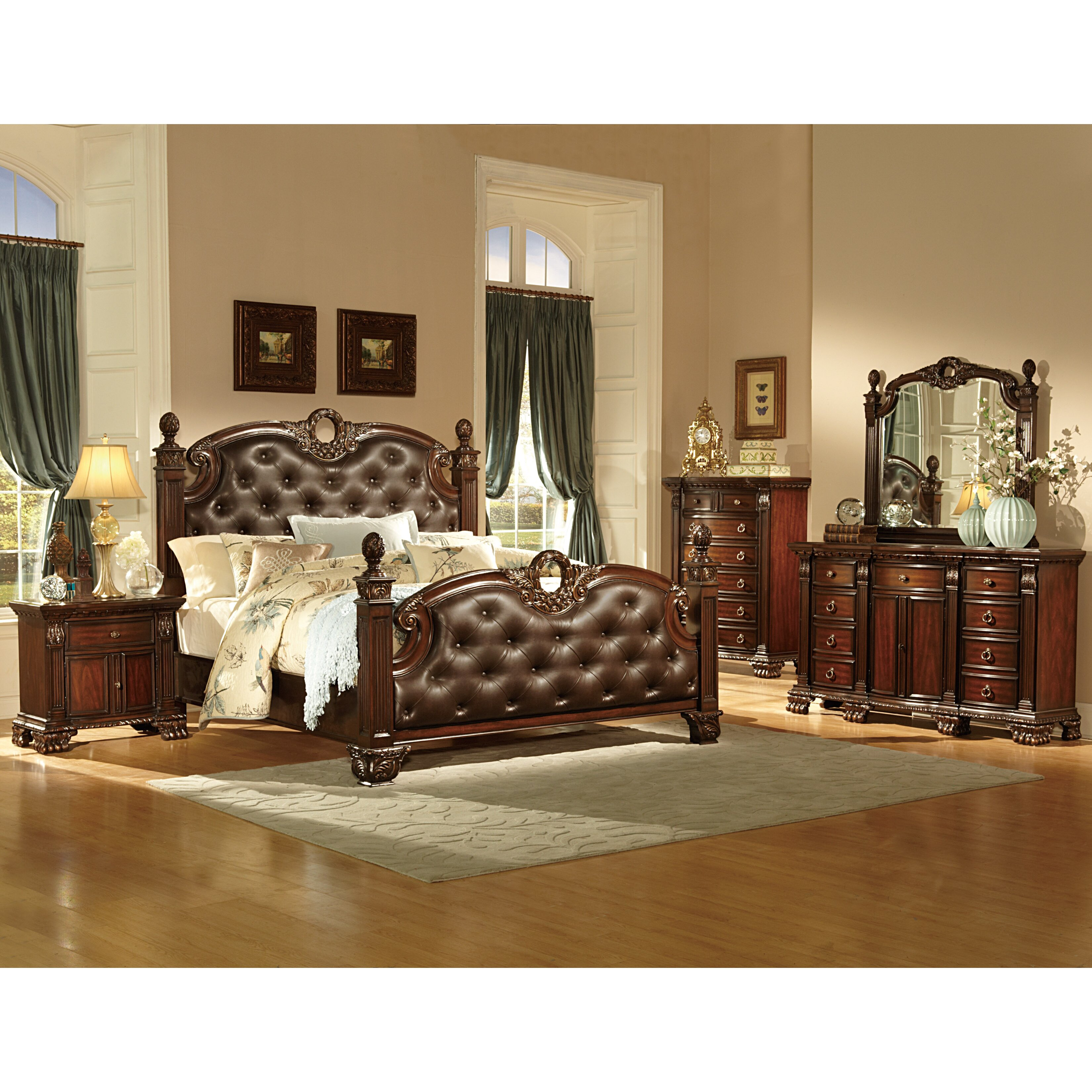 Orleans Panel Customizable Bedroom Set