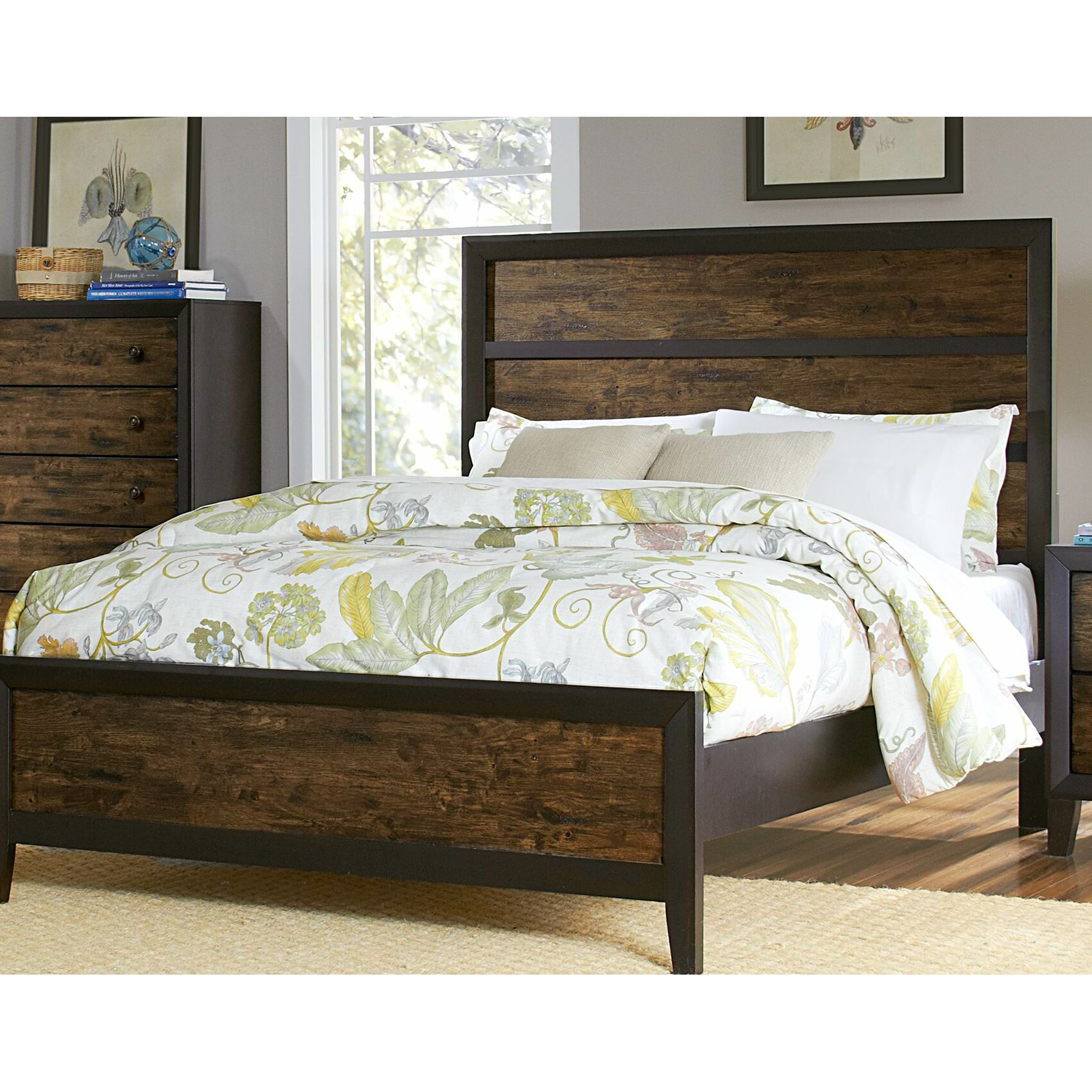 Woodhaven Hill Arcola Panel Bed Reviews Wayfair