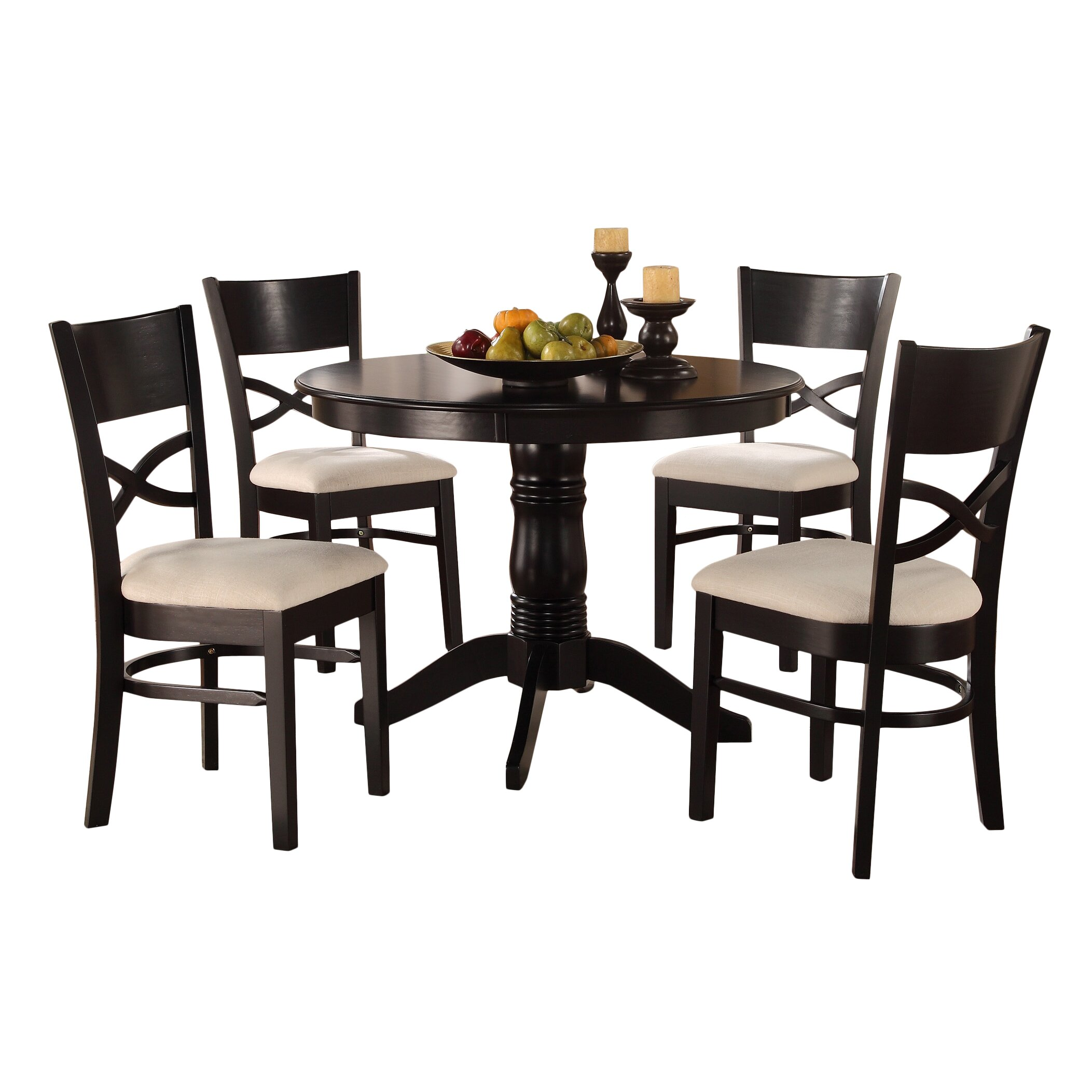 Woodhaven Hill Clancy 5 Piece Dining Set amp; Reviews  Wayfair Supply