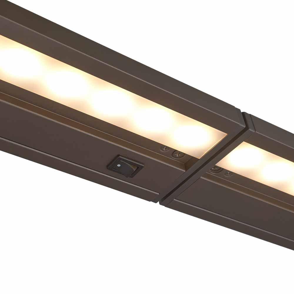 led under cabinet light wayfair. Black Bedroom Furniture Sets. Home Design Ideas