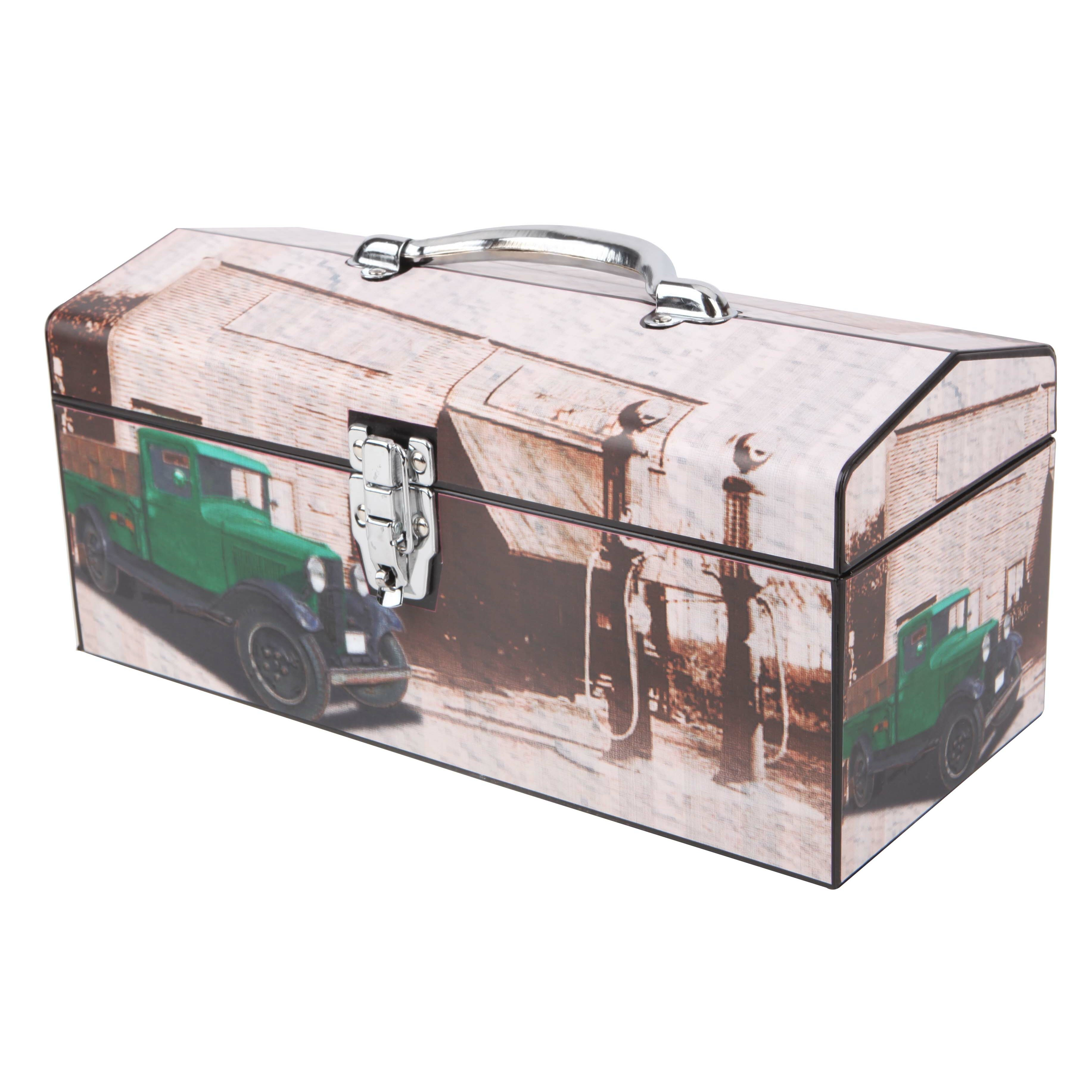Knaack Portable Tool Box Bush 7 Inch Portable Dvd Player Manual Portable Hd Fm Radio Player Hape Portable Easel: Vintage Truck Toolbox