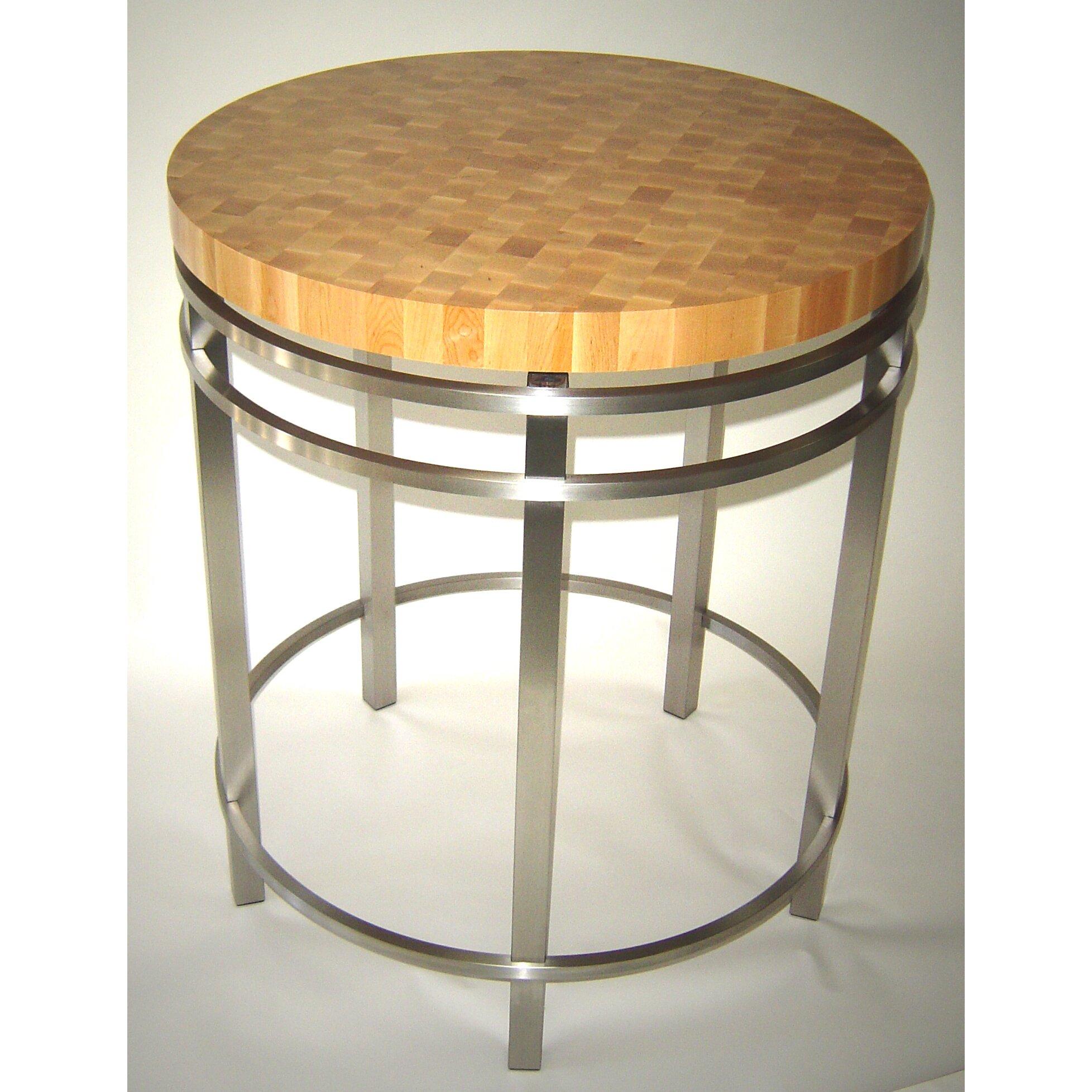 john boos metropolitan designer prep table with butcher block reviews wayfair. Black Bedroom Furniture Sets. Home Design Ideas
